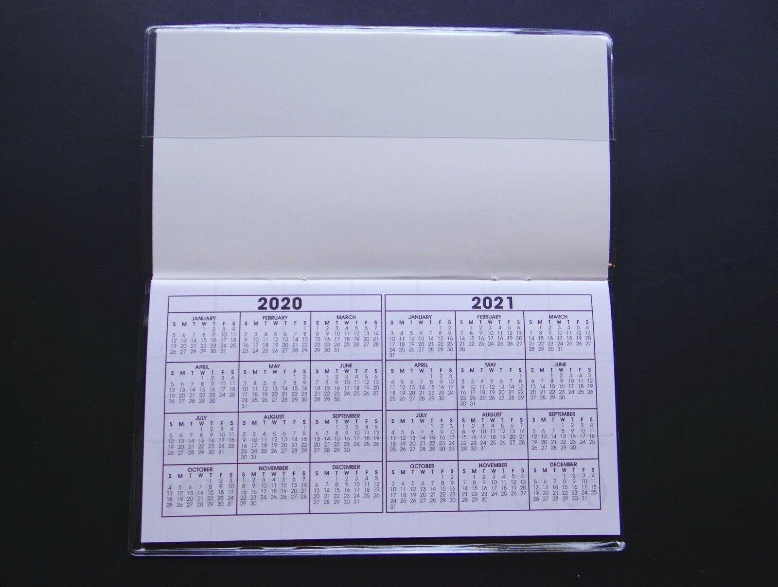 Pick Purse Size Calendars