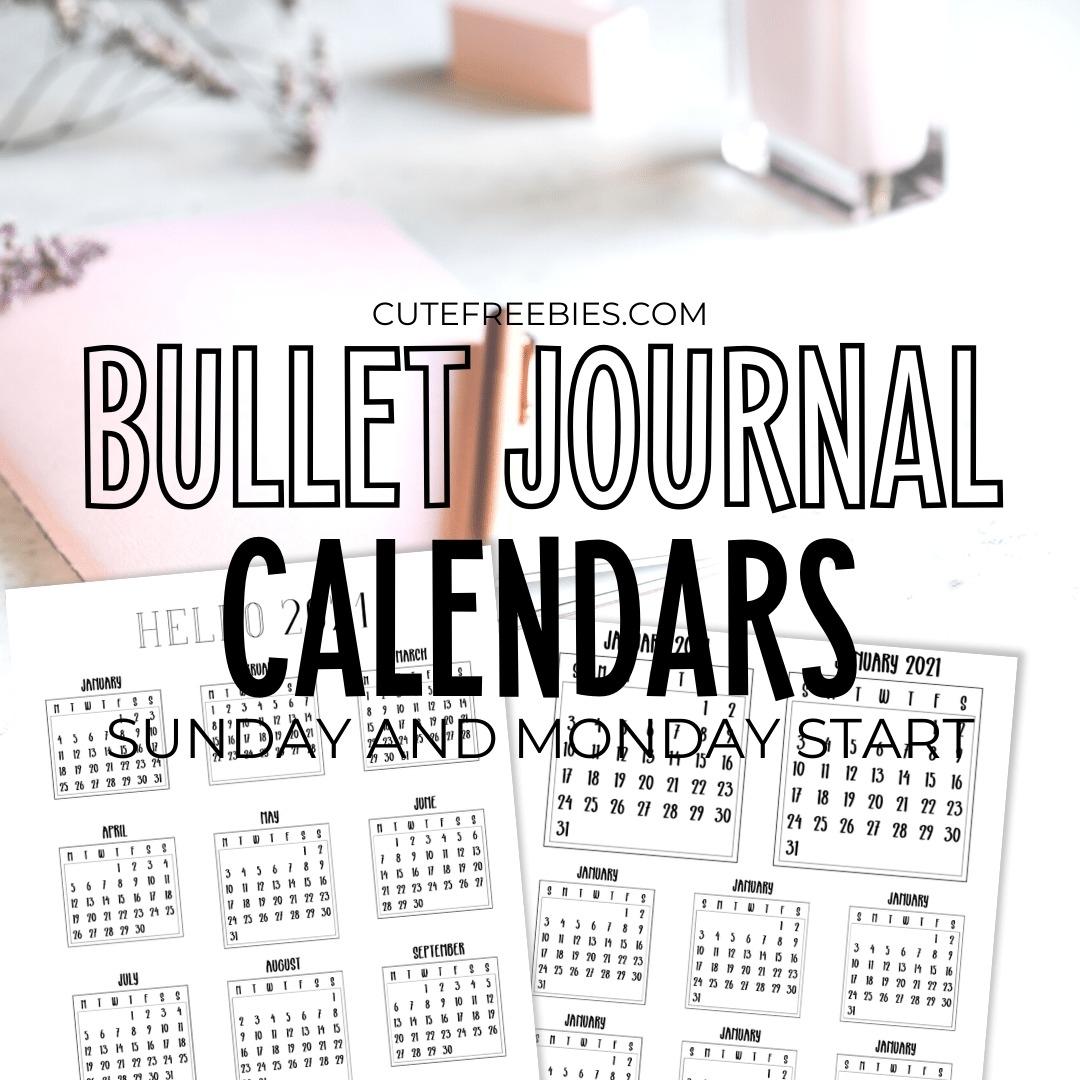 Pick Small Calendar Printable