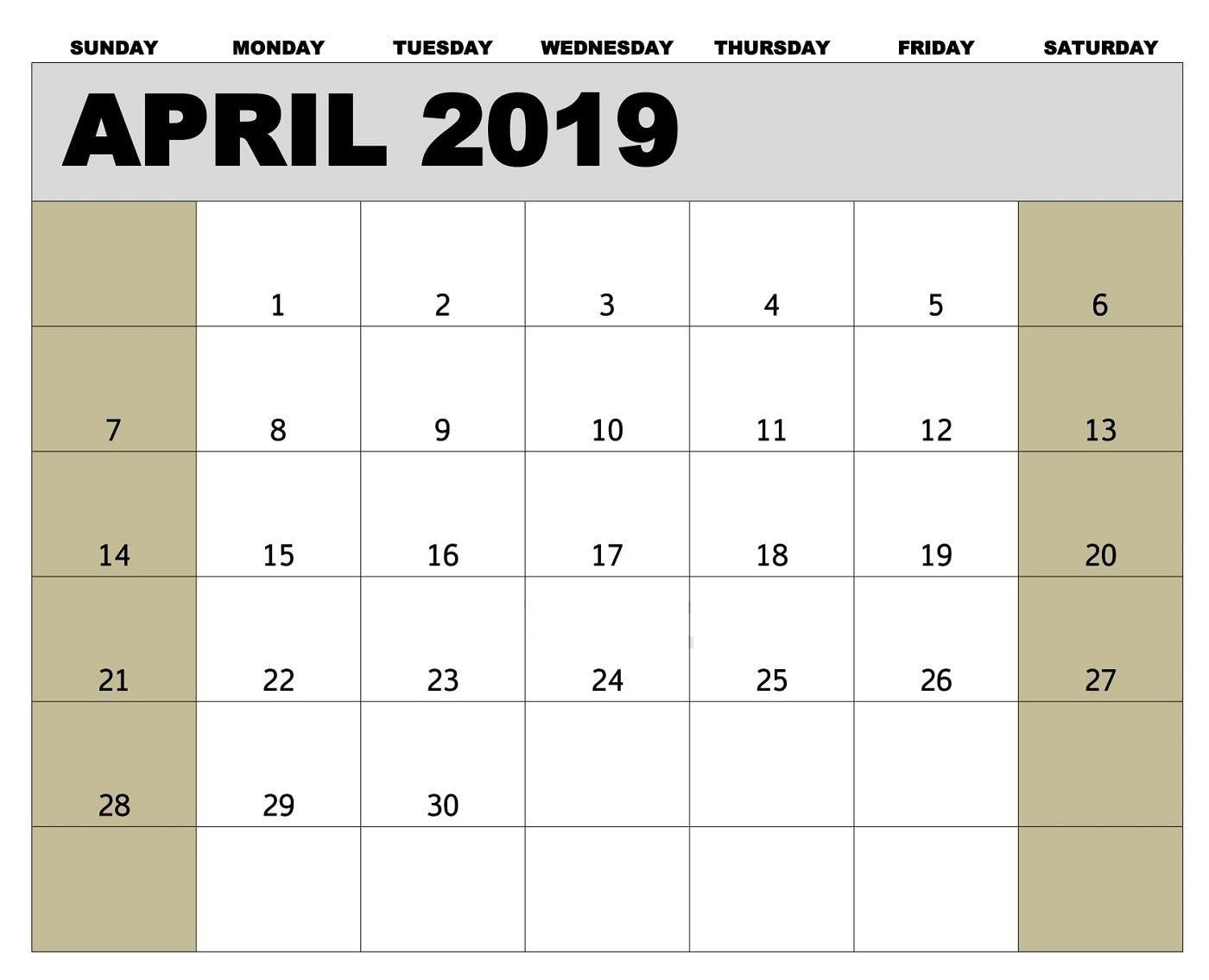 Pick Vertex Blank Monthly Calendar Starts Mondat