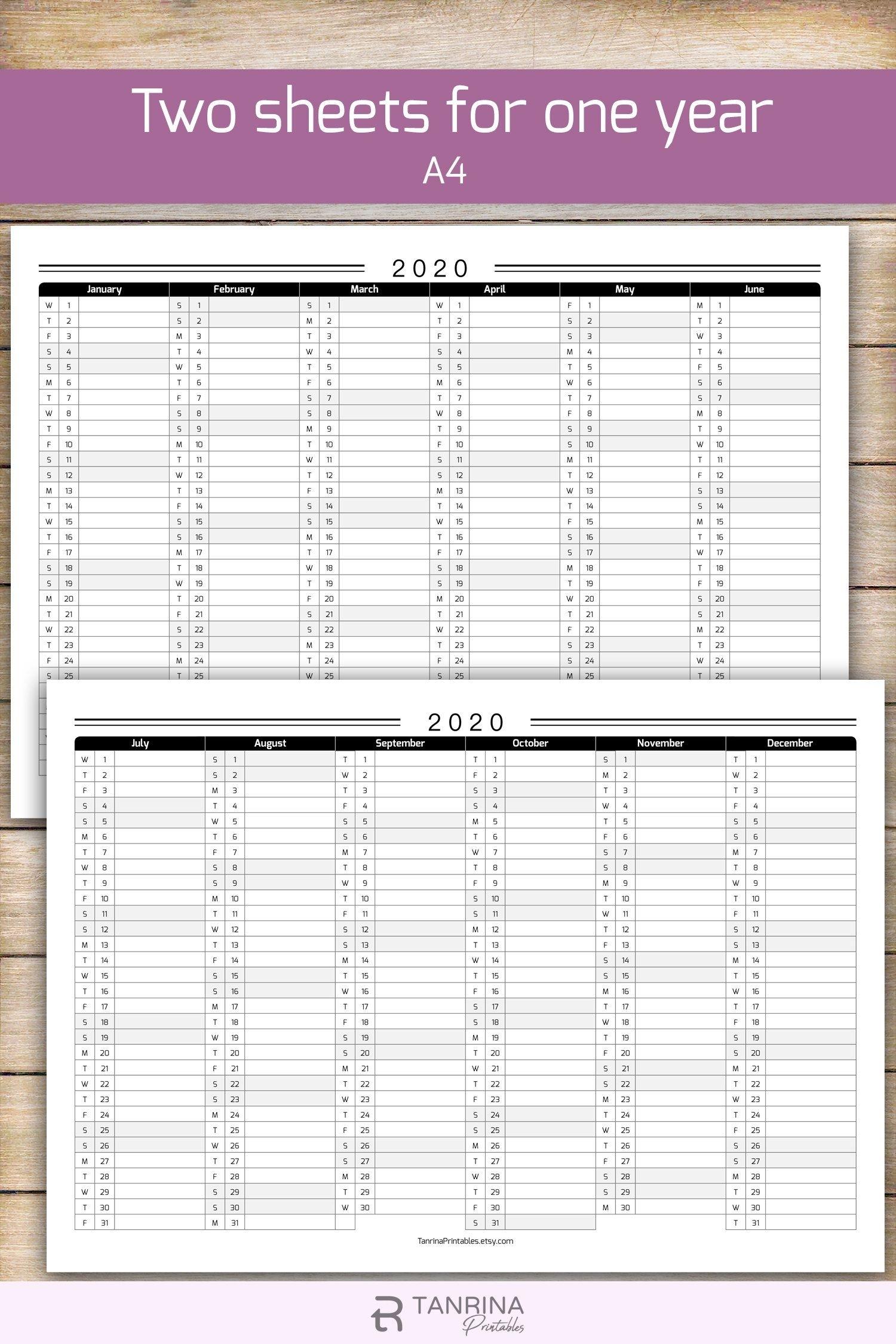 Pick Year Planner 2021