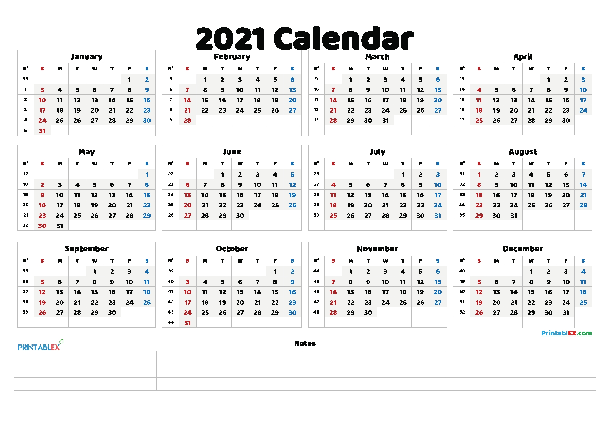 Take 2021 Caledar Year Week And Dates Excel