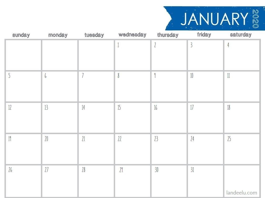 Take 4X6 Printable Calendar Templates