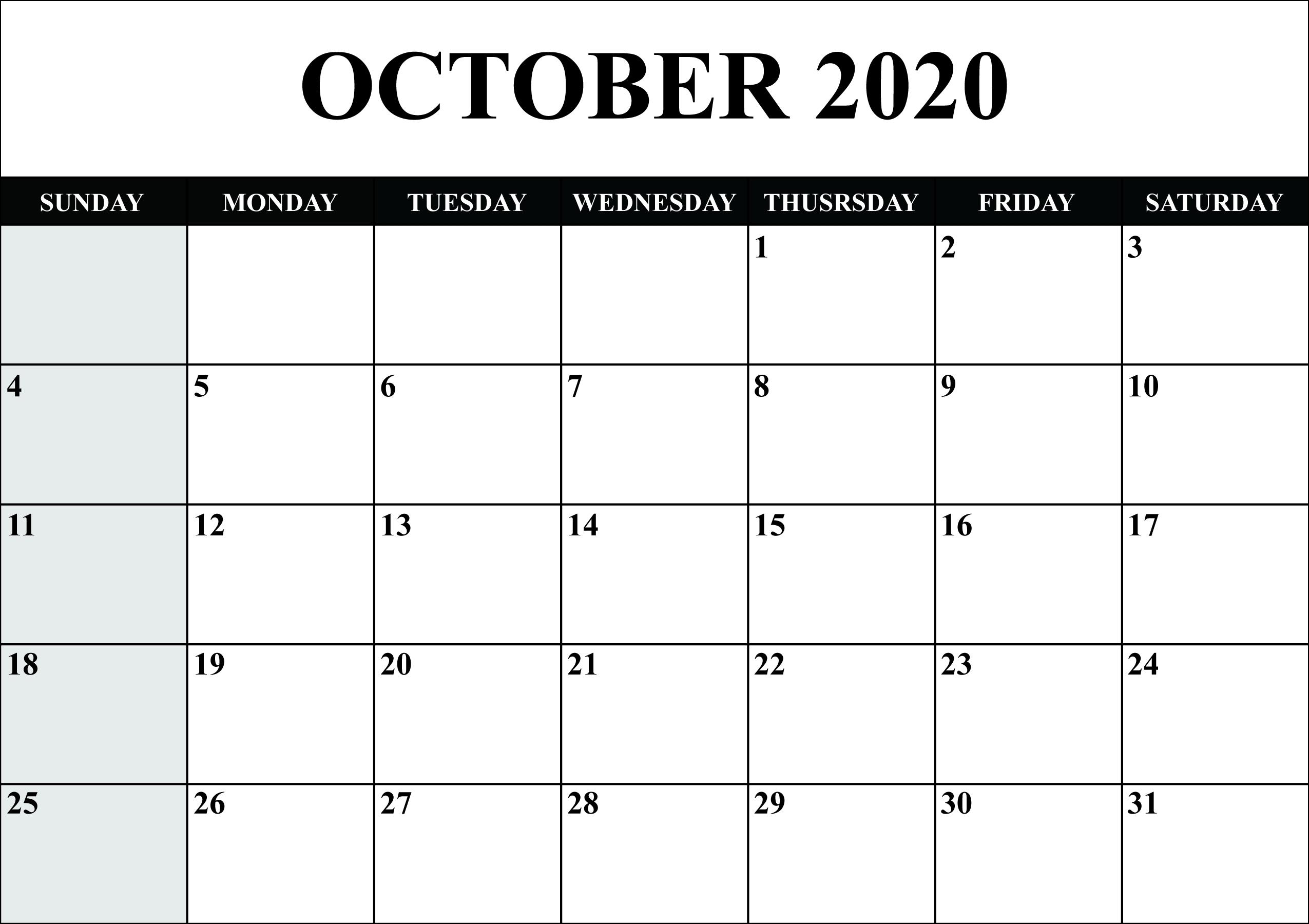 Take 8.5 X 11 October 2021 Calendar