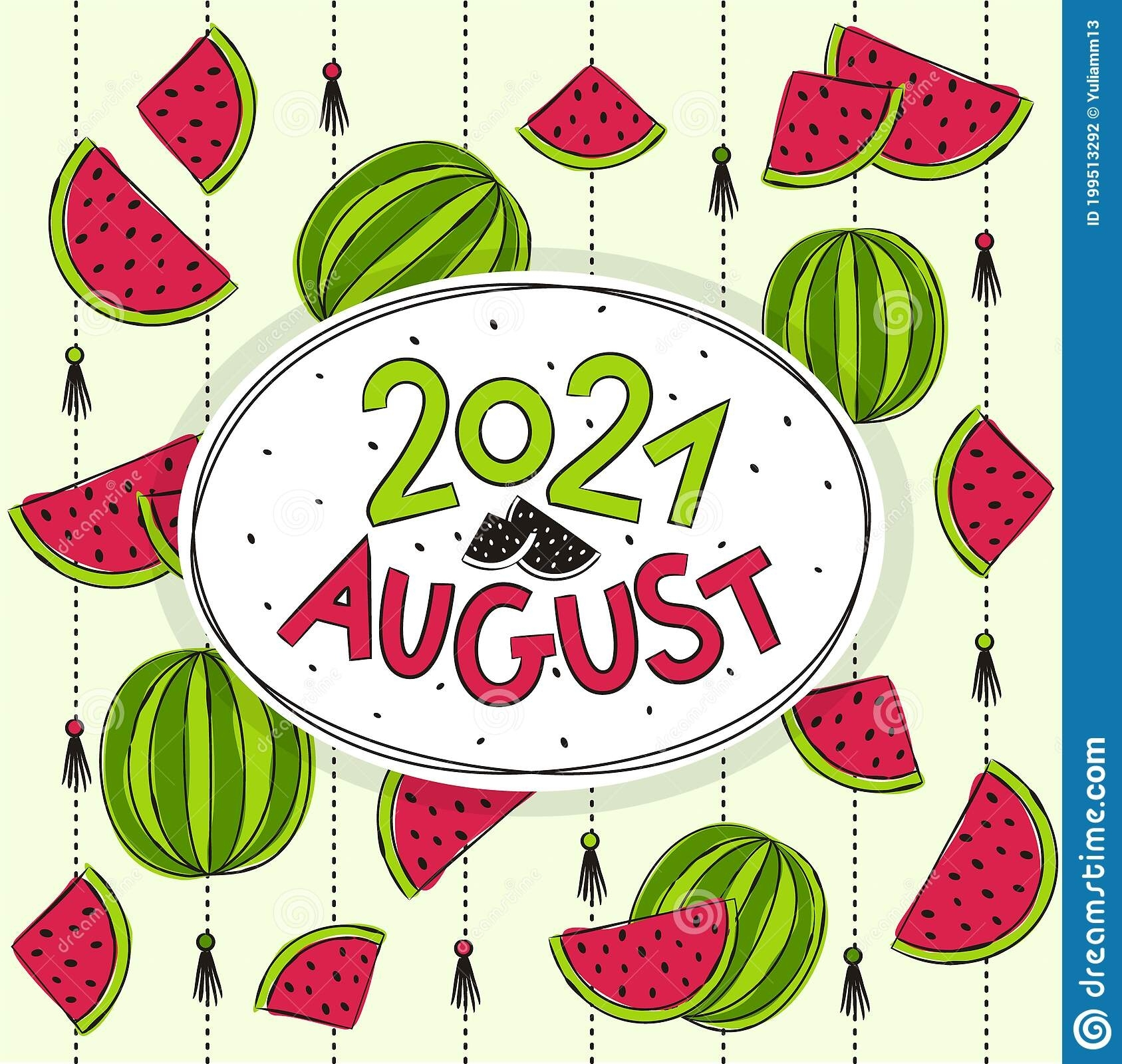 Take August 2021 Clip Art