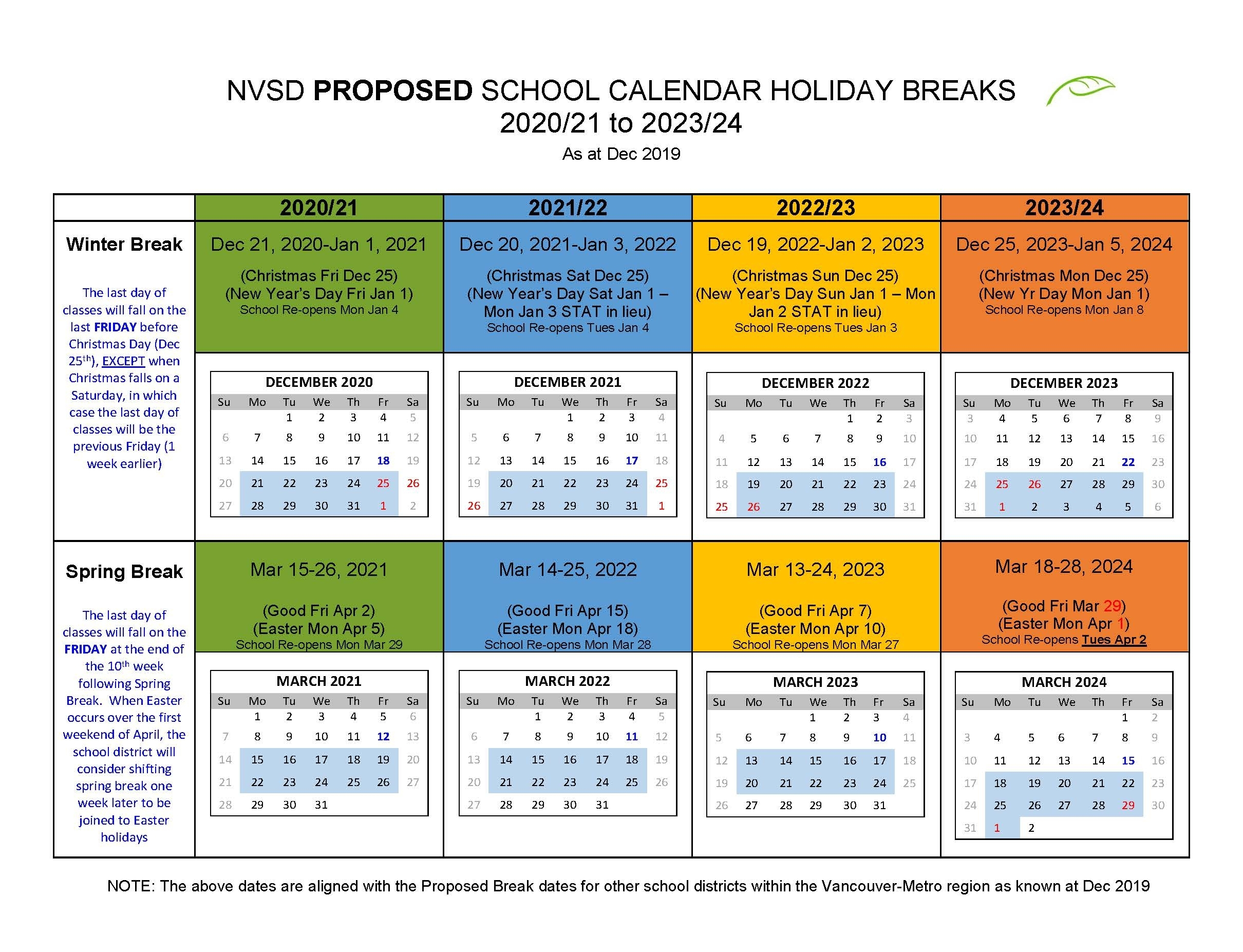 Take Back To School August 2021 Calendar