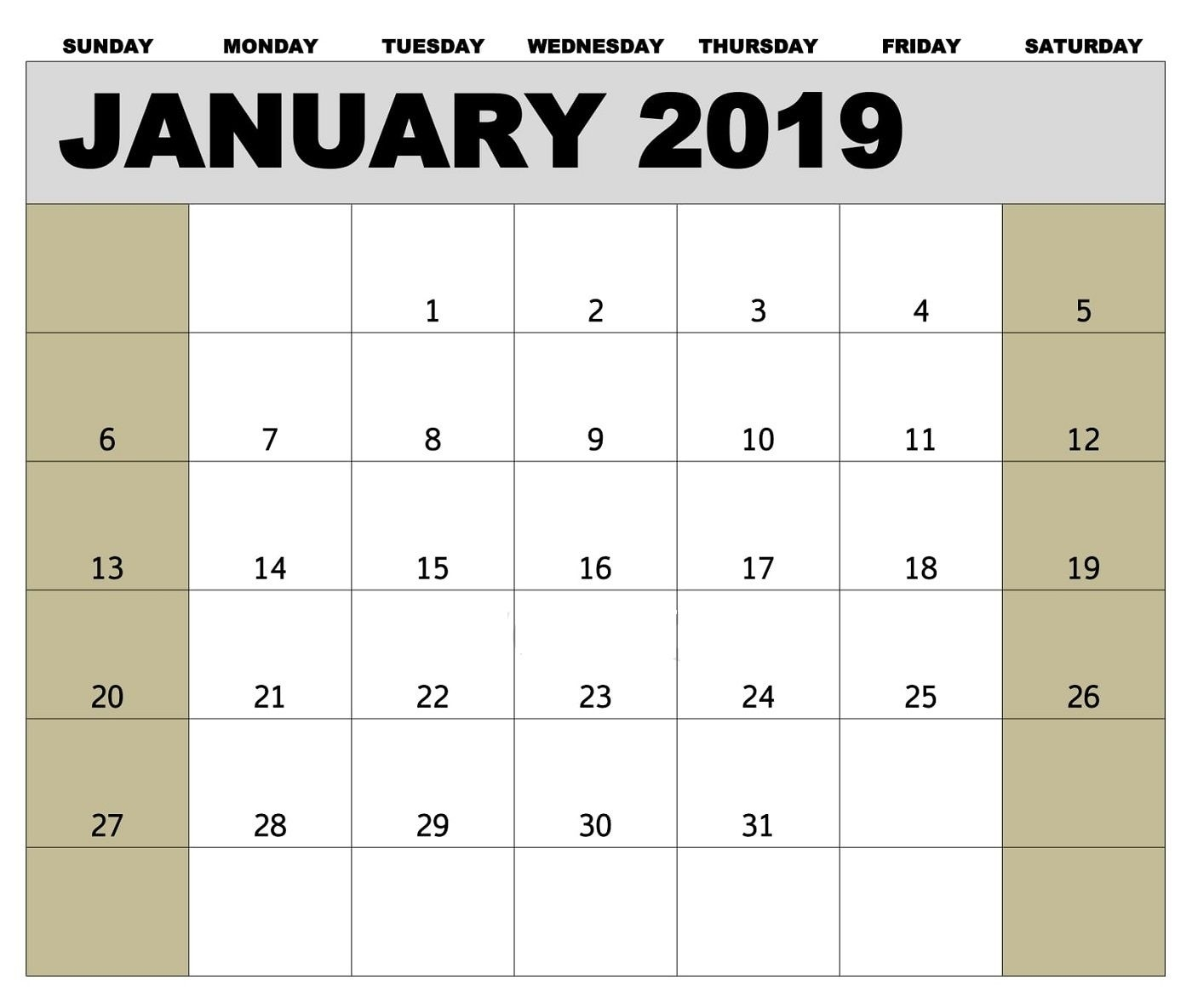 Take Bi Weekly Calendars