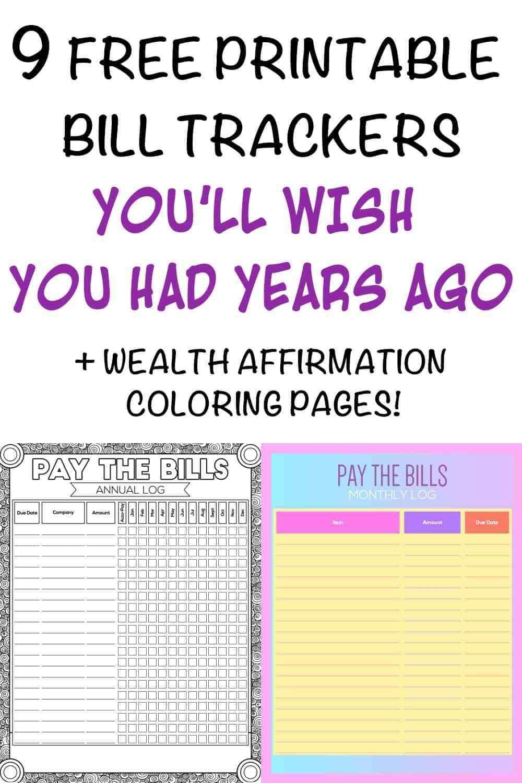 Take Bill Payment Calendar Free