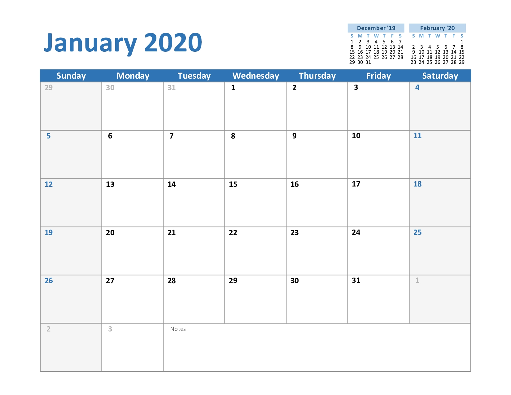 Take Blank Monthly Calendar Template Excel 2021