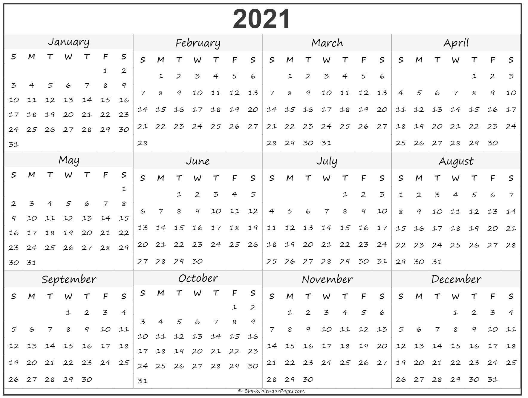 Take Calendar 2021 Uk