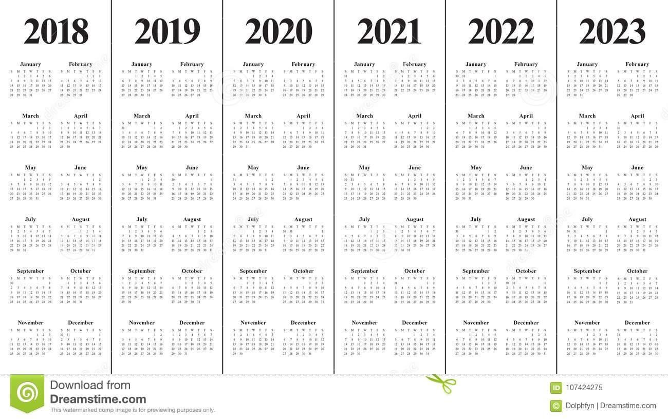 Take Calendar For 2022 & 2023
