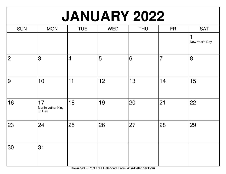 Take Calendar Jan To April 2021