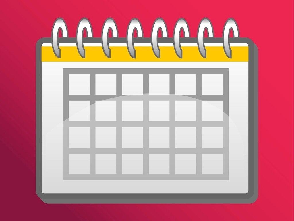 Take Calendar Template With Clip Art