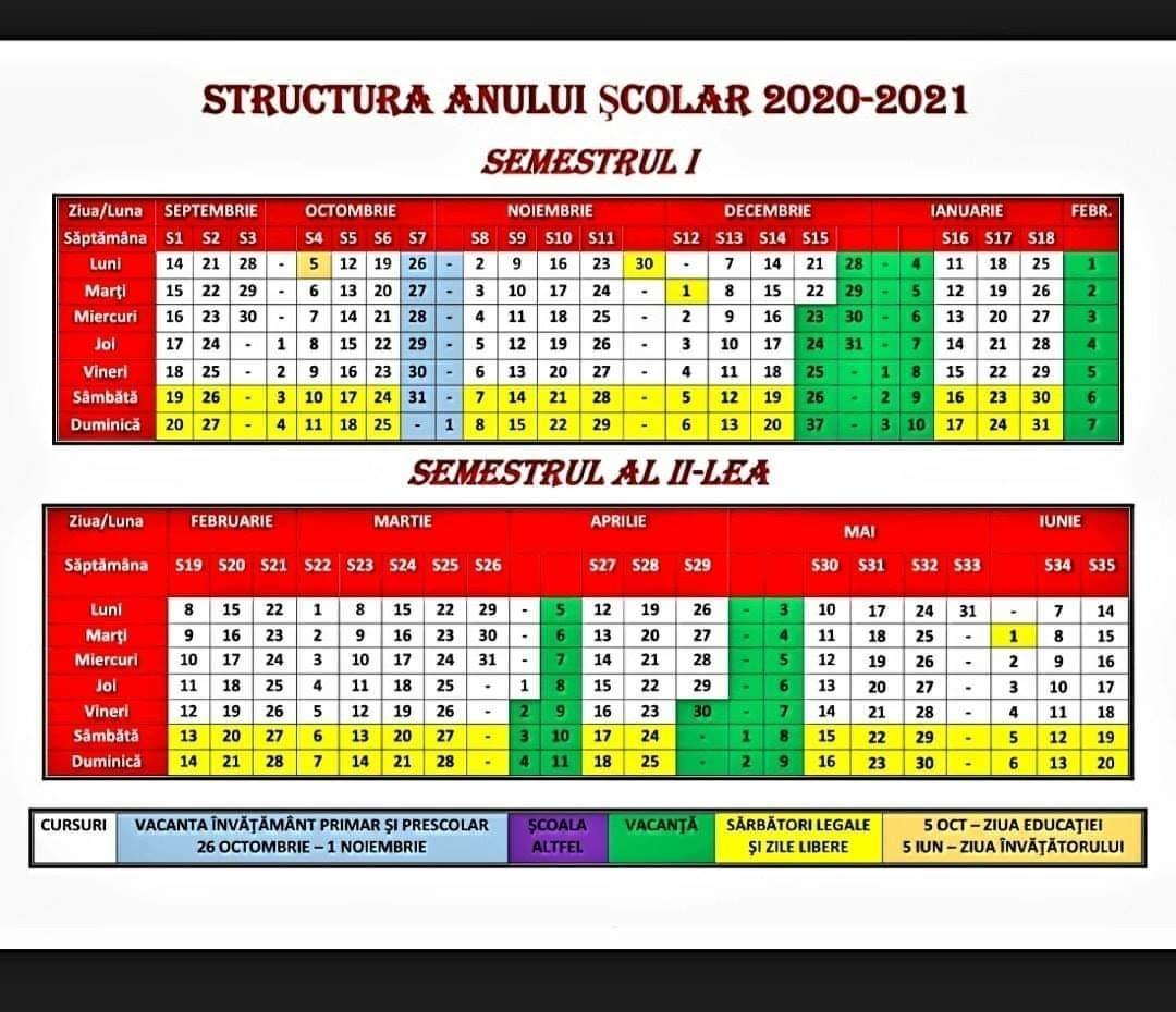 Take Calendar Zile Lucratoare 2021
