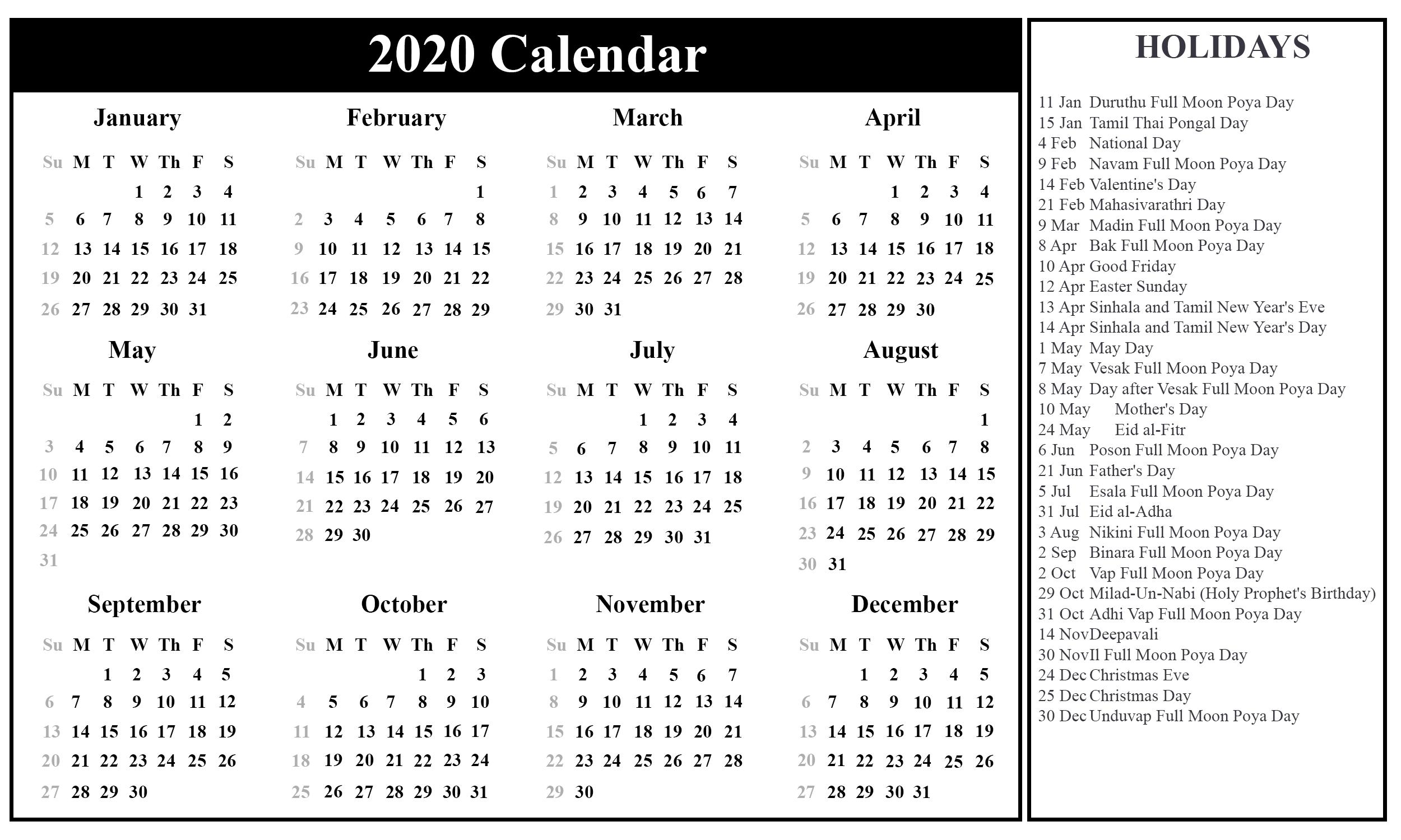 Take Calendars Print Sri Lanka