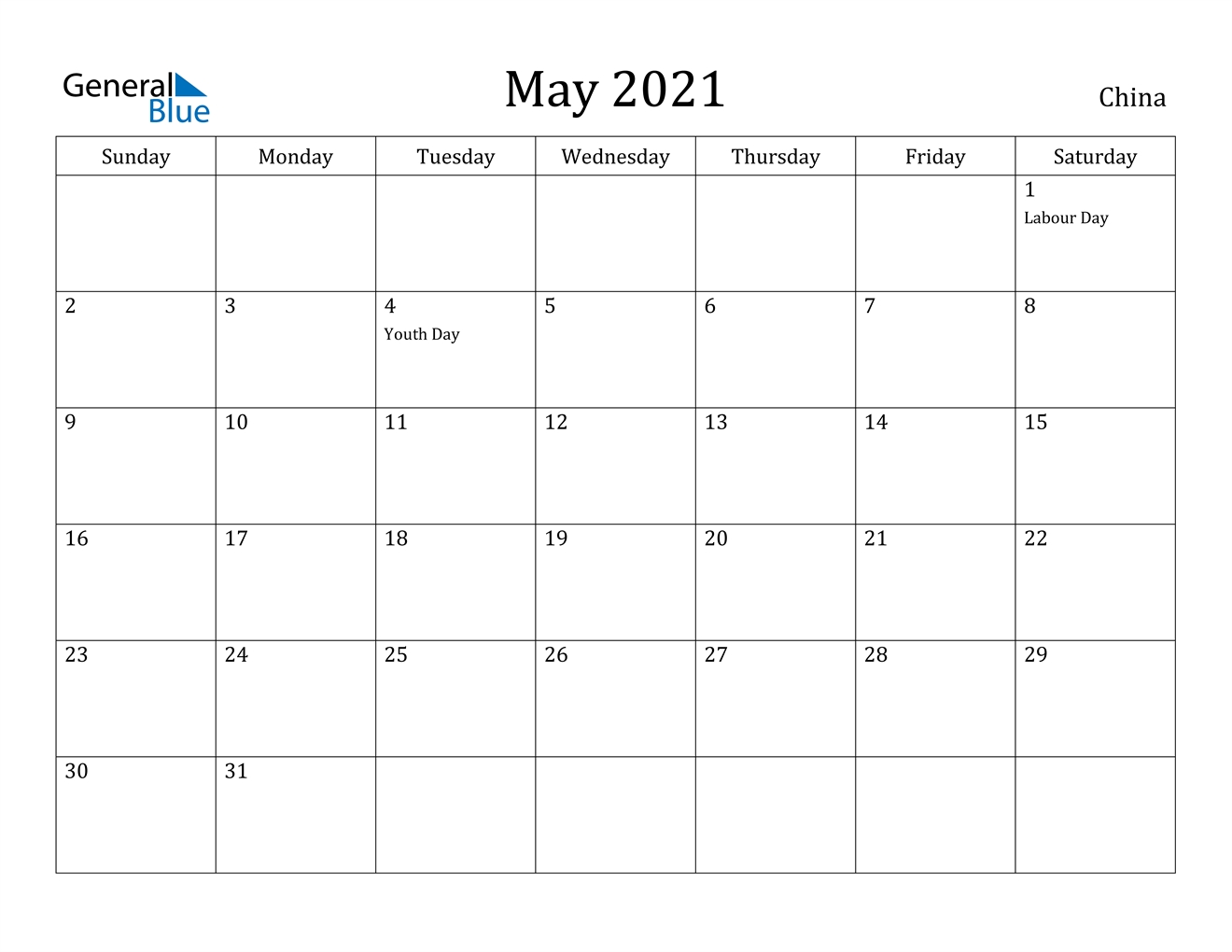 Take China Holiday Calendar 2021
