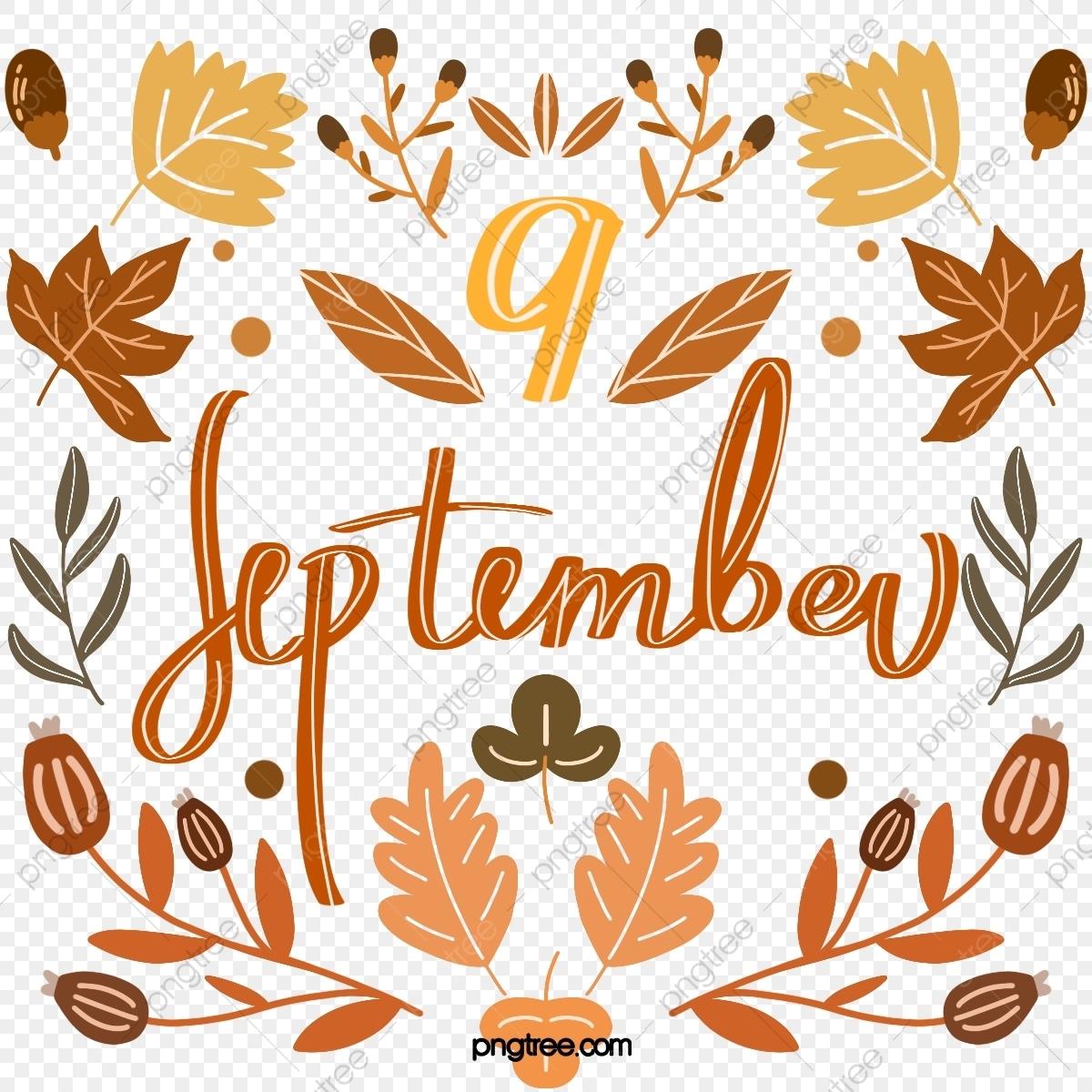 Take Clip Art For September