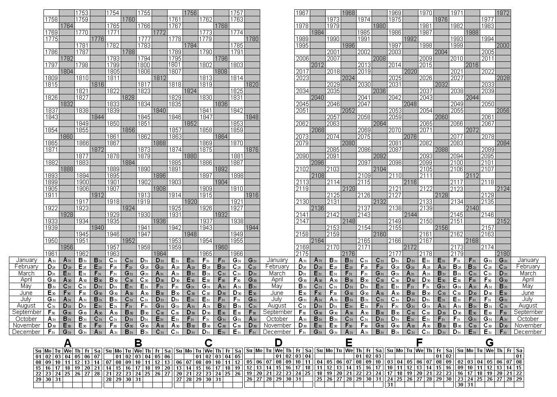 Take Depo Provera Perpetual Calendar To Print