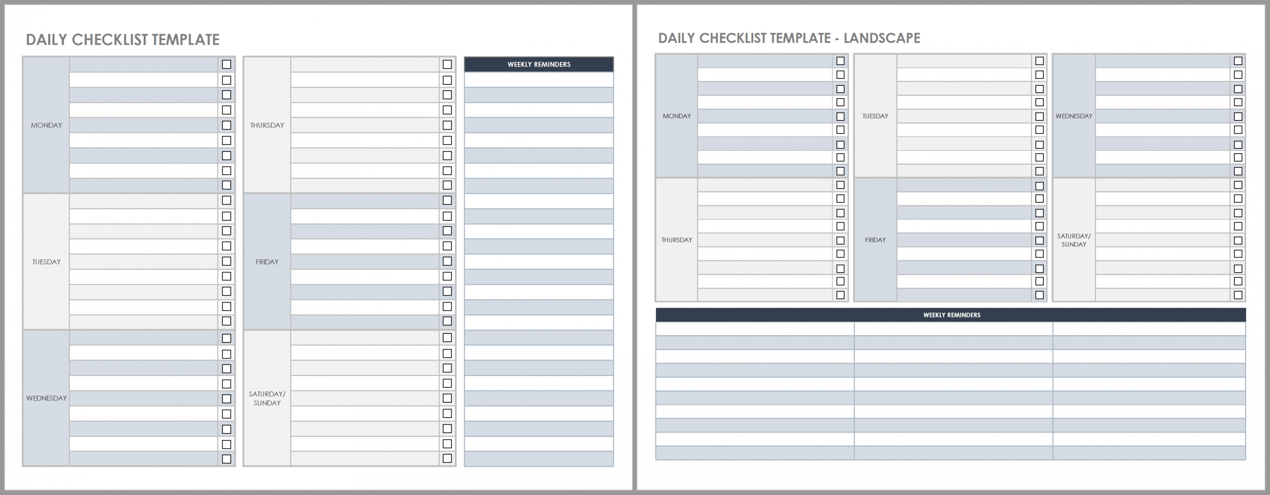 Take Employee Daily Week Worksheet Template