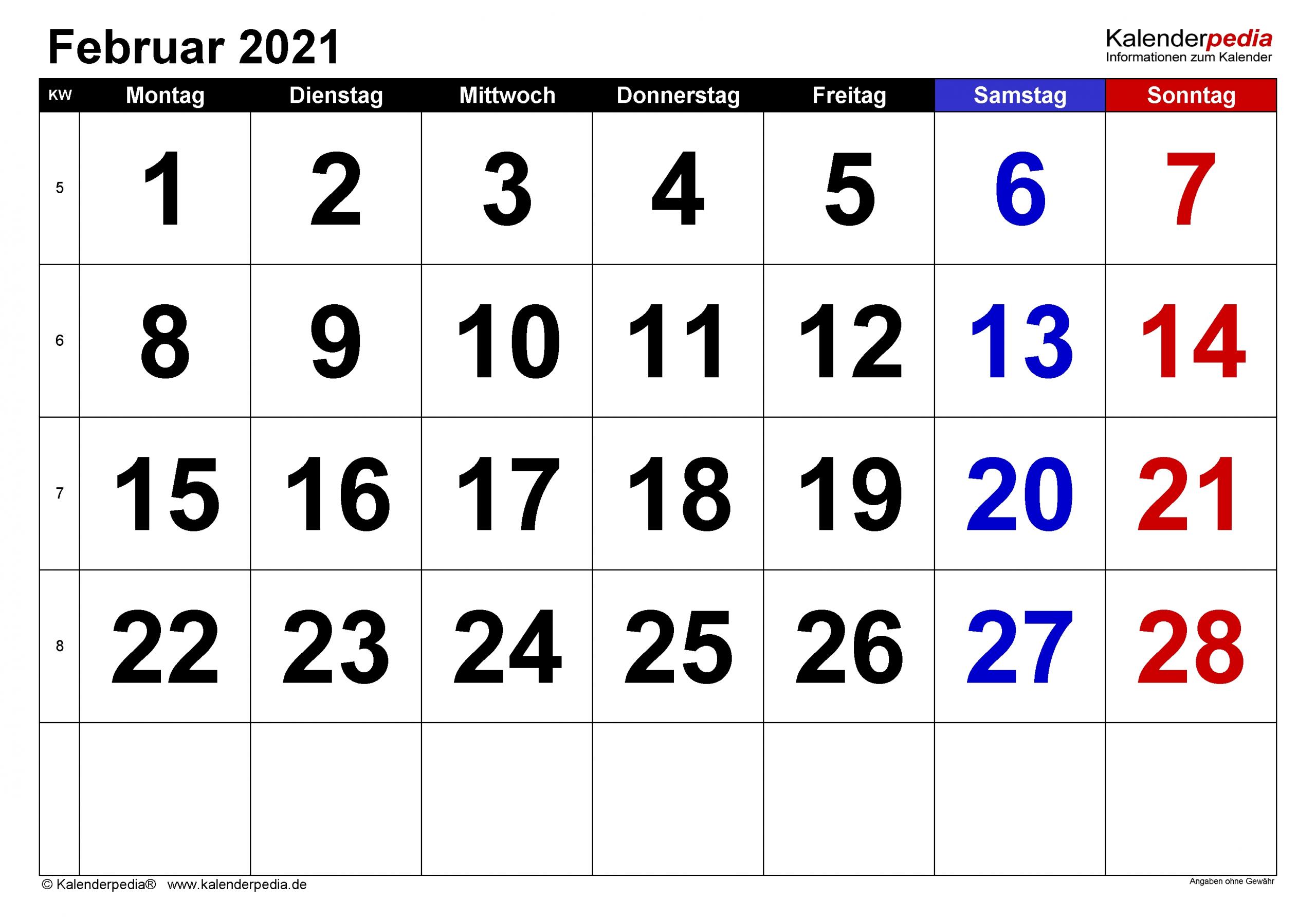 Take Februar 2021 Druckvorlage