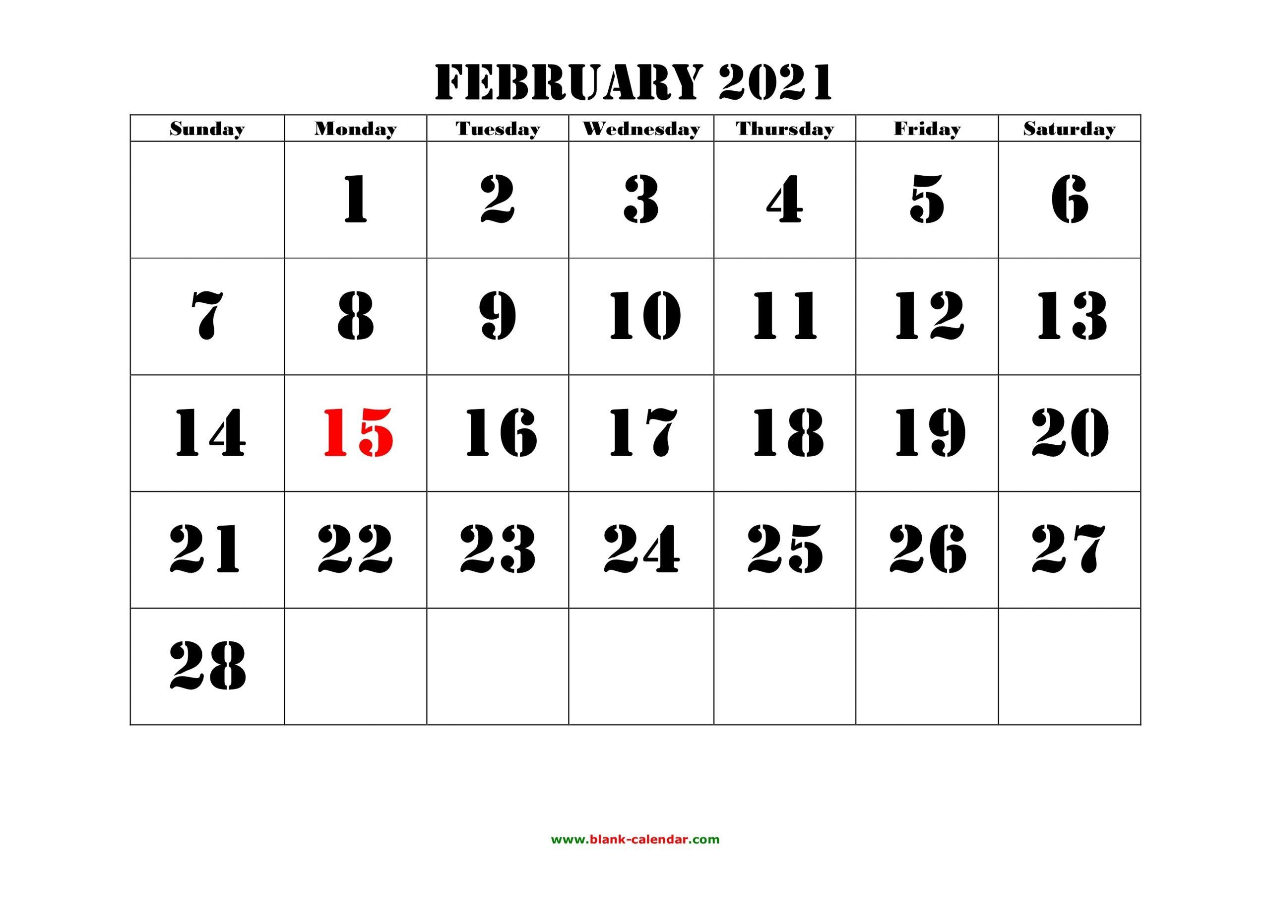 Take Festive 2021 Printable Calendars