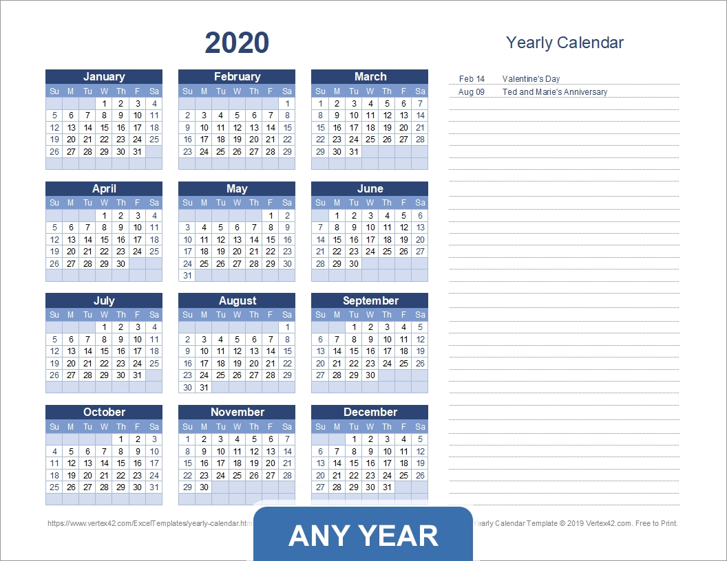 Take Finacial Year Planner With Numbered Weeks