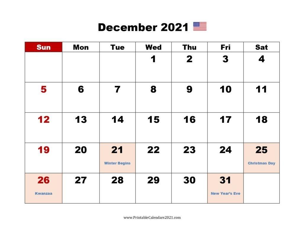 Take Free Printable Calendar August Thru December 2021 Printable