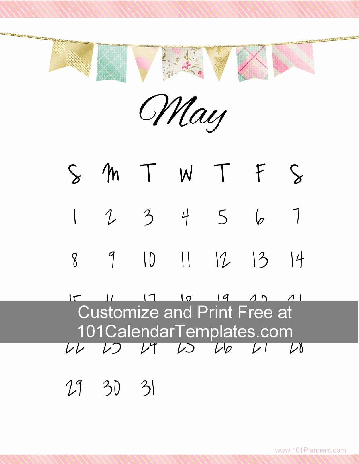 Take Free Printable Calendar No Download Required
