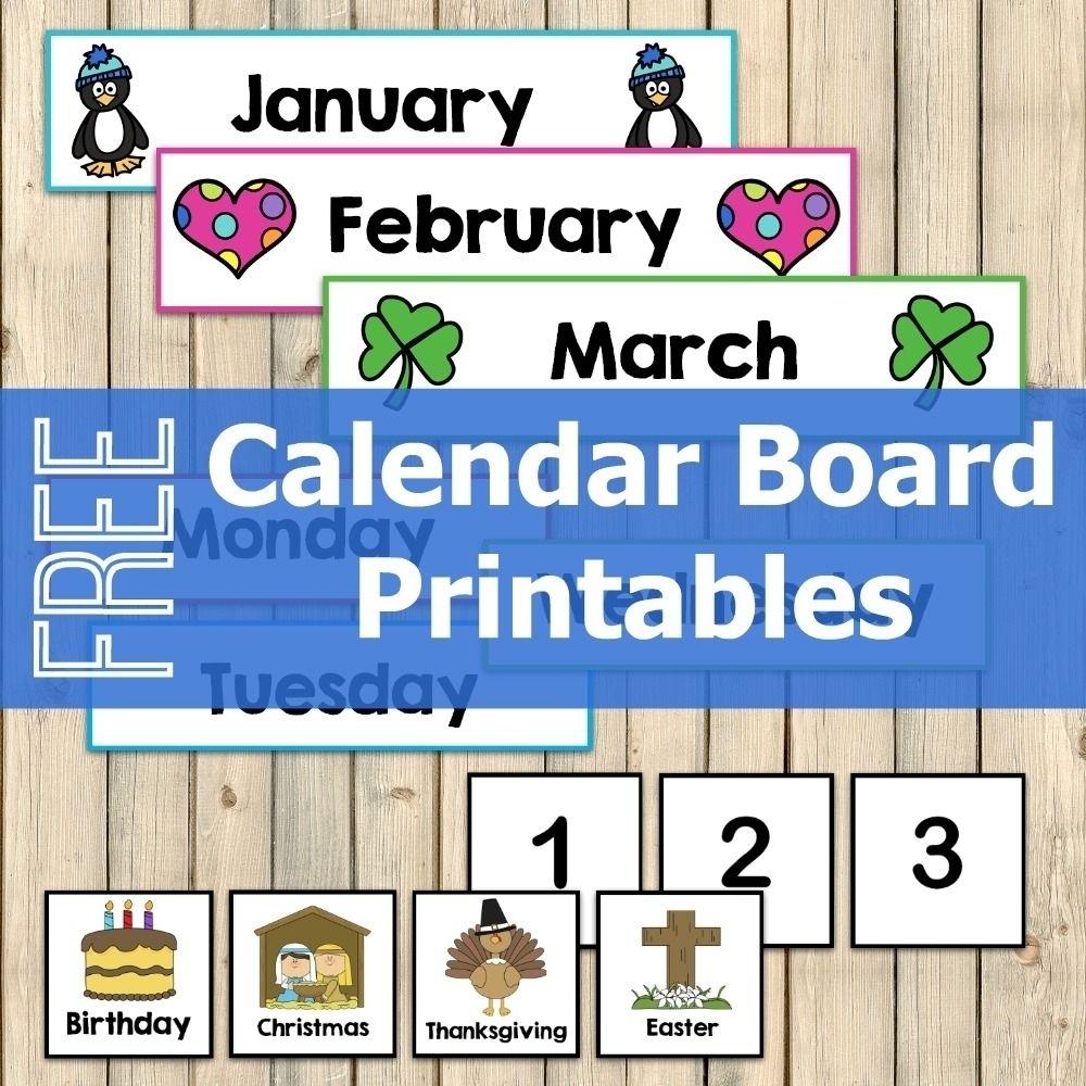 Take Free Printable Calendar Numbers 1 31