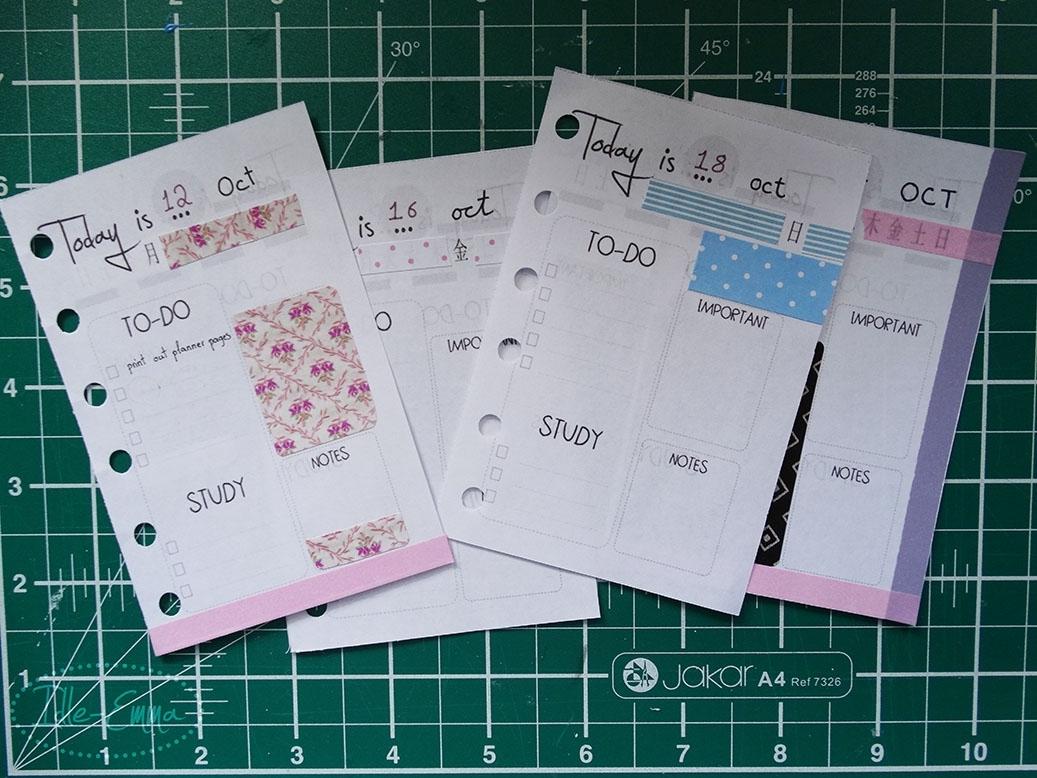Take Free Printable Pocket Planner