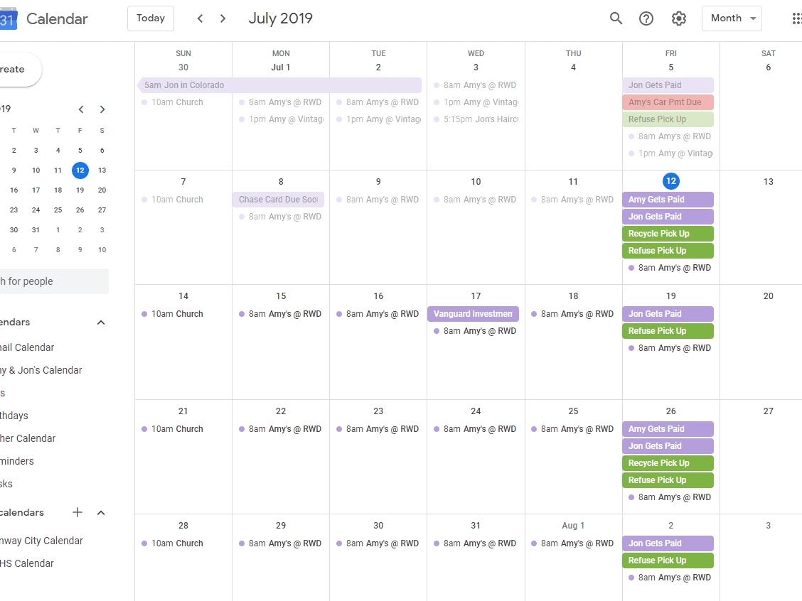 Take Google Images Calendar