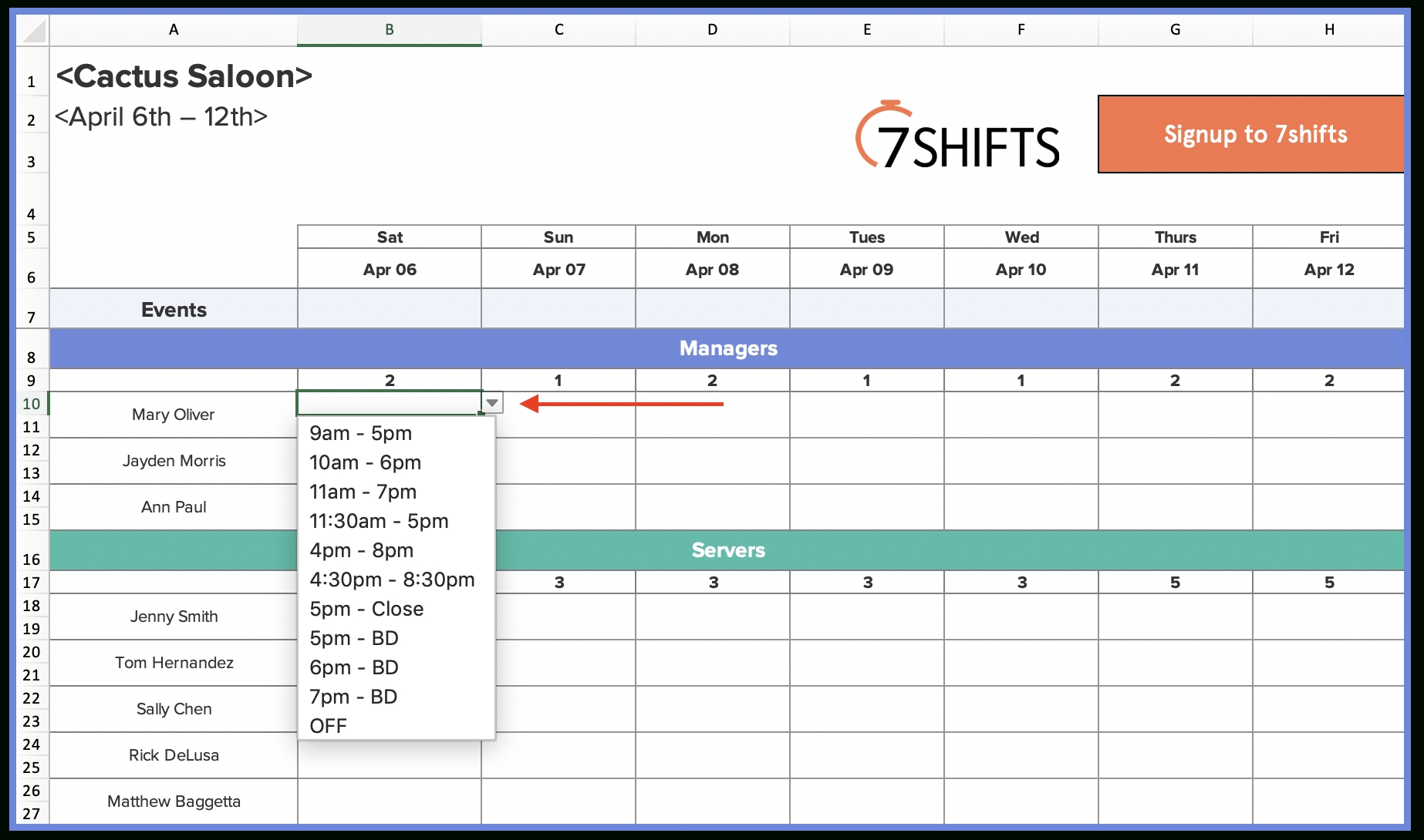 Take How To Create Time Slot Excel Spreadsheet