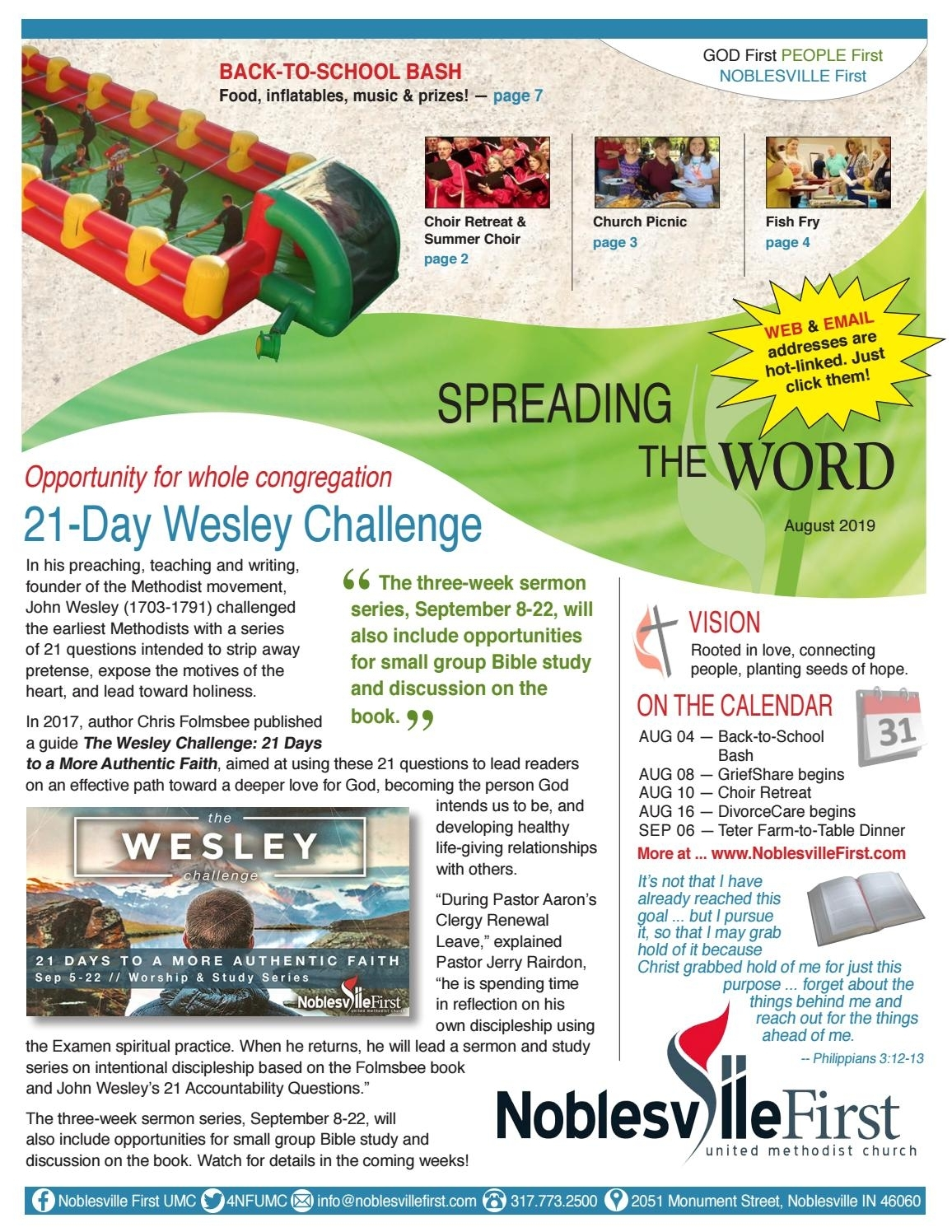 Take How To Print August Prayer Callander For Umw