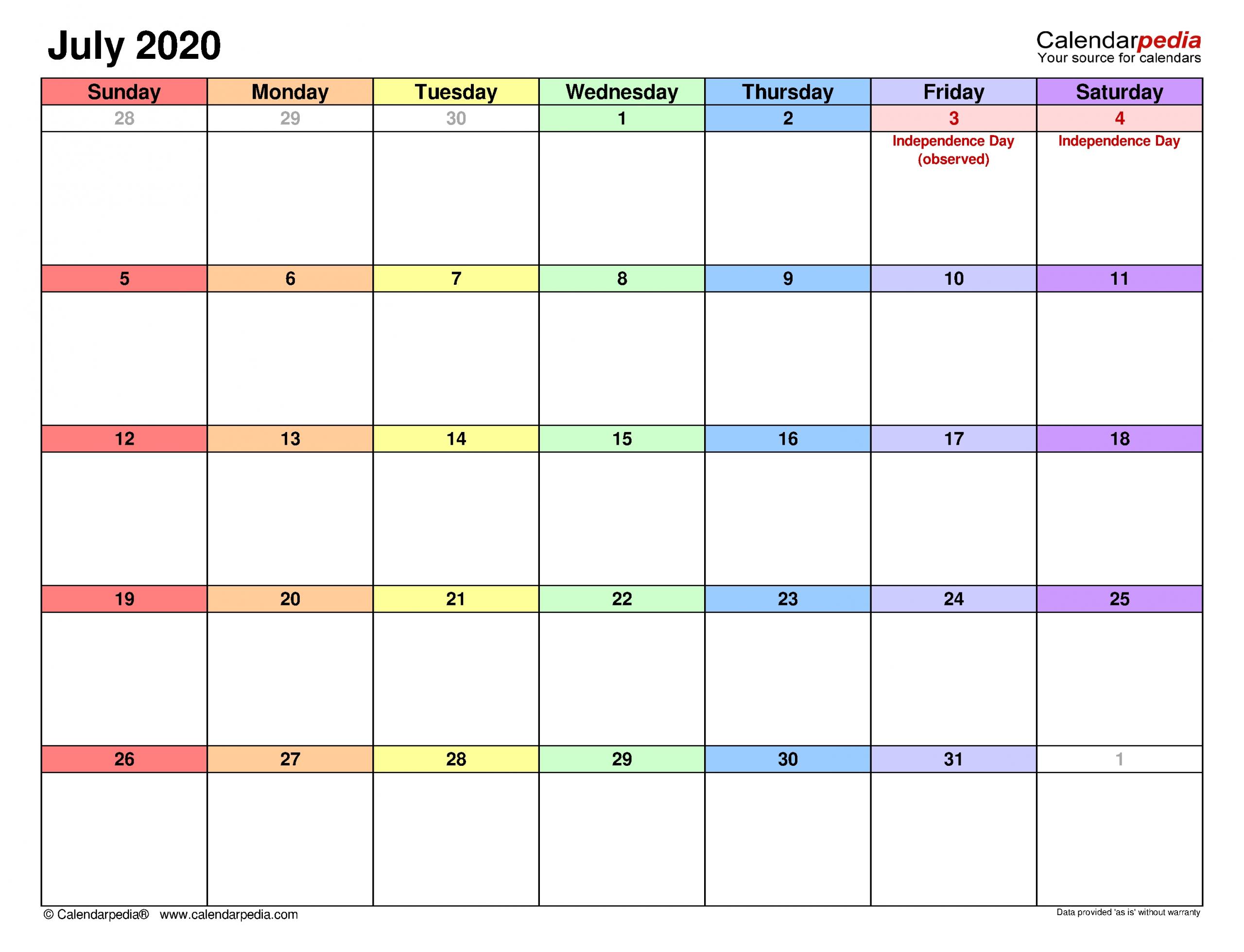 Take Kalender Juli 2021