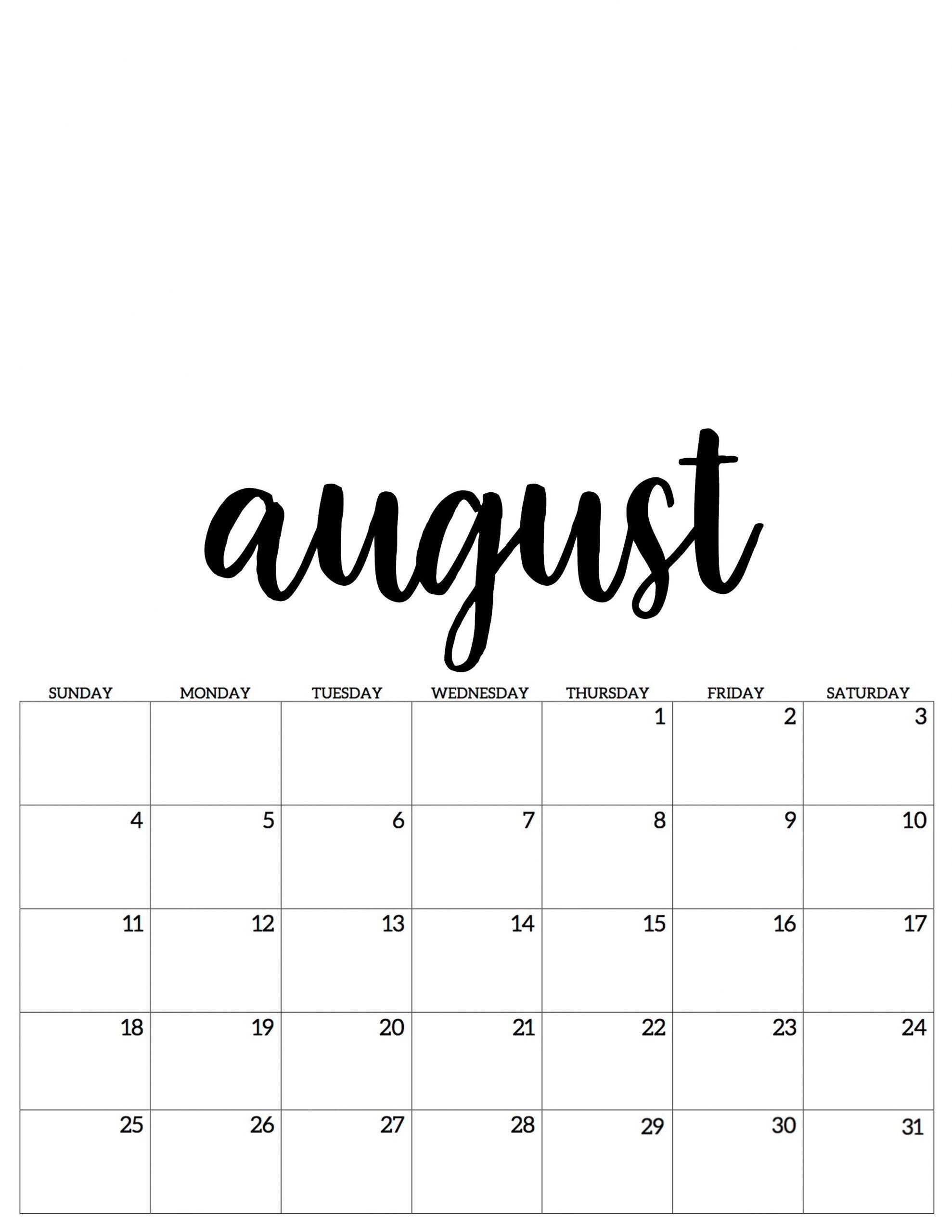 Take Kalender Juli August
