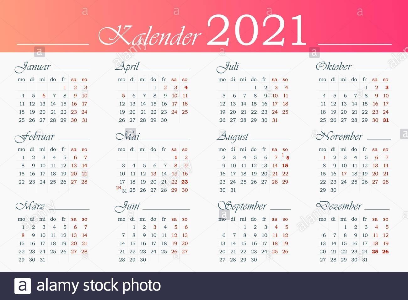 Take Kalender Juni Juli August 2021