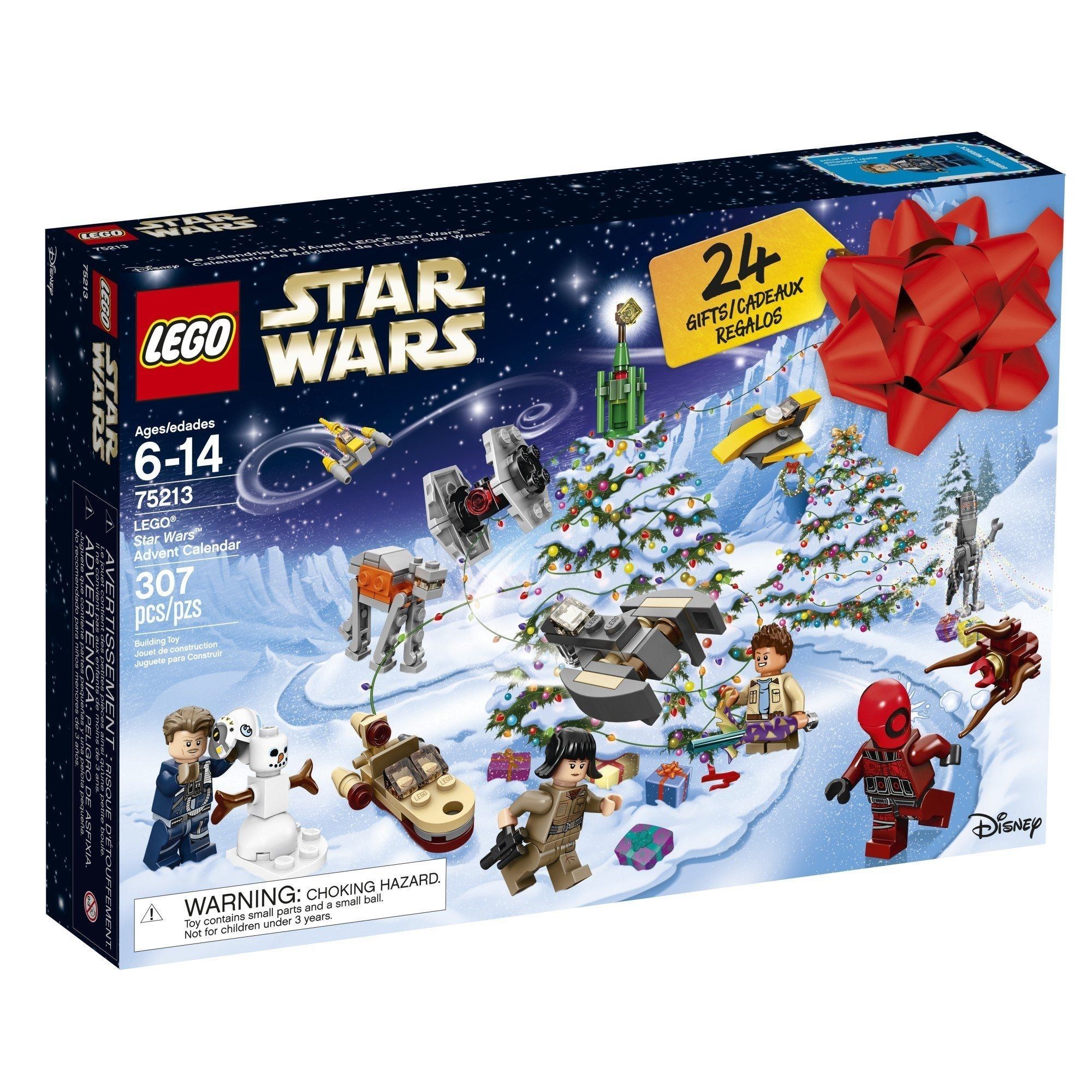 Take Lego 6213564 Star Wars Tm Advent Calendar 75213 2018 Edition Minifigures Small Building Toys Christmas Countdown Calendar K