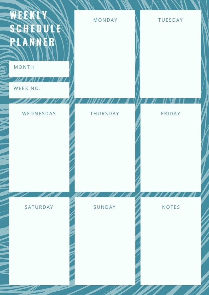 Take Monday Through Friday Appointment Book