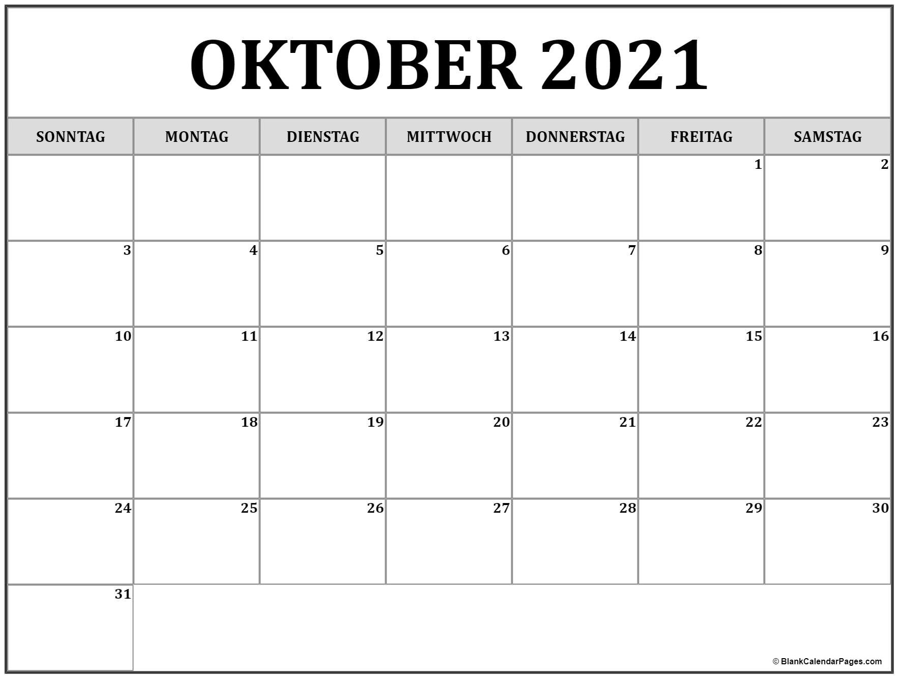 Take Oktober – Dezember 2021 Kalender