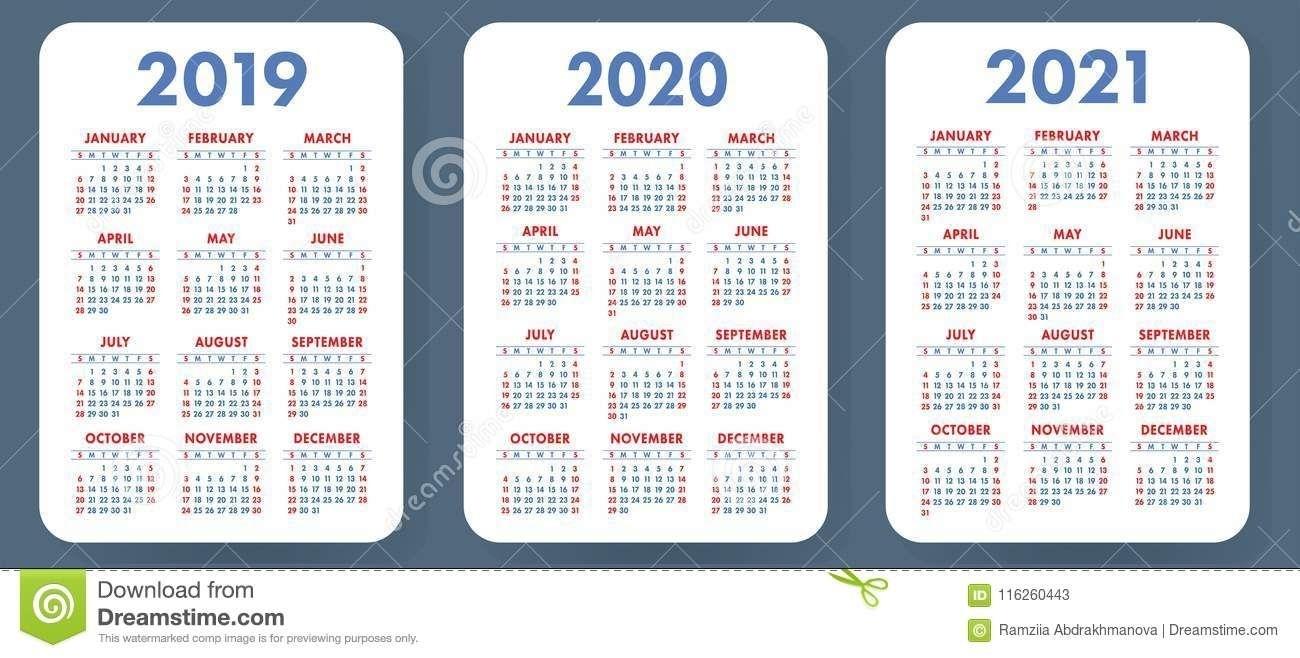 Take Pocket Sized Calendar Excel