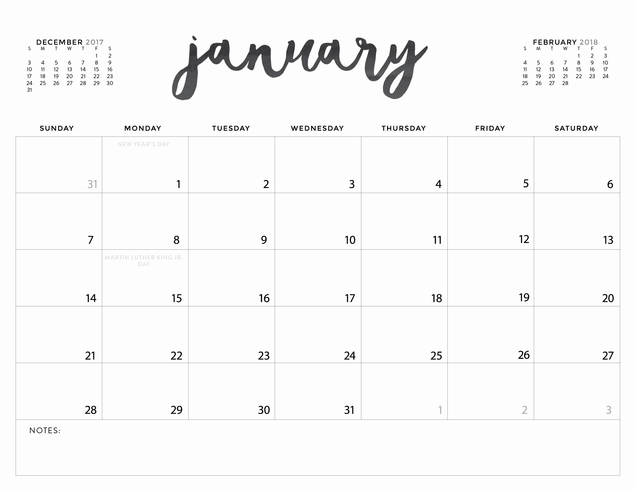 Take Printable Calendar Without Download