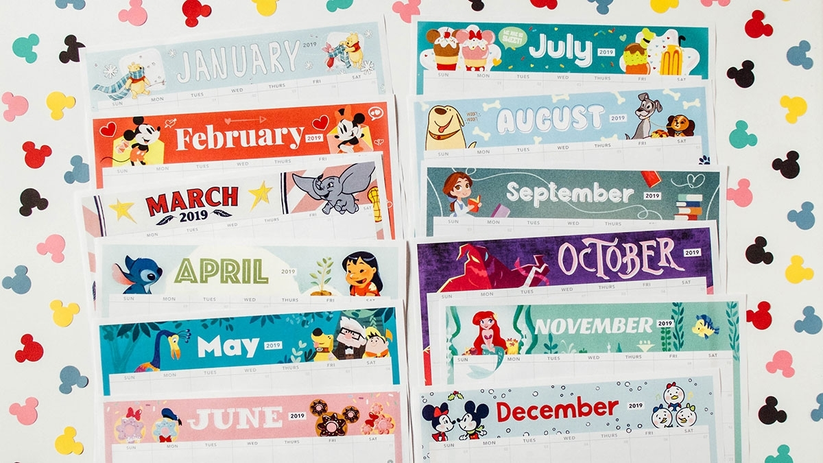 Take Printable Disney Calender July 2021
