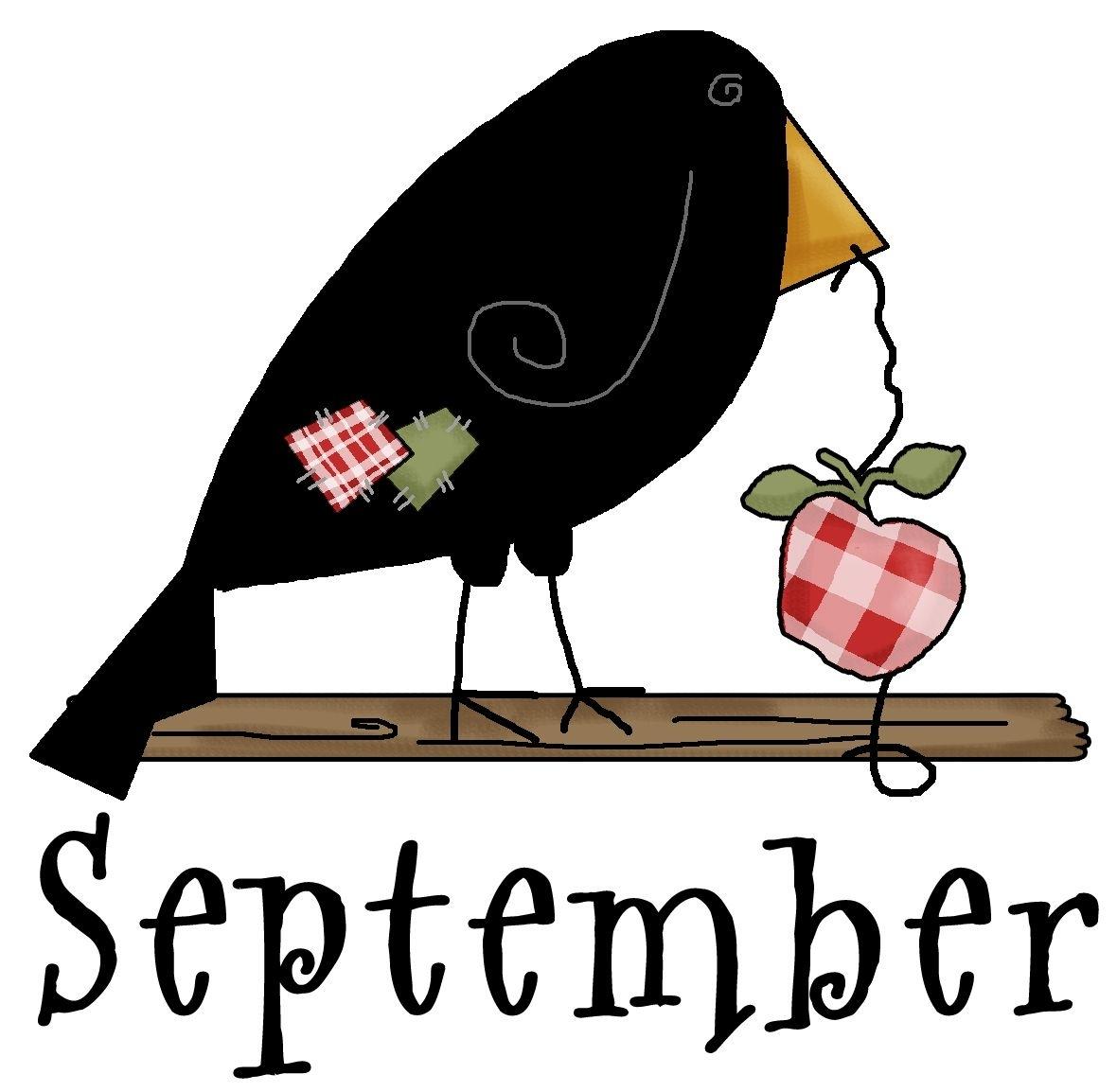 Take September Clip Art Free Printable