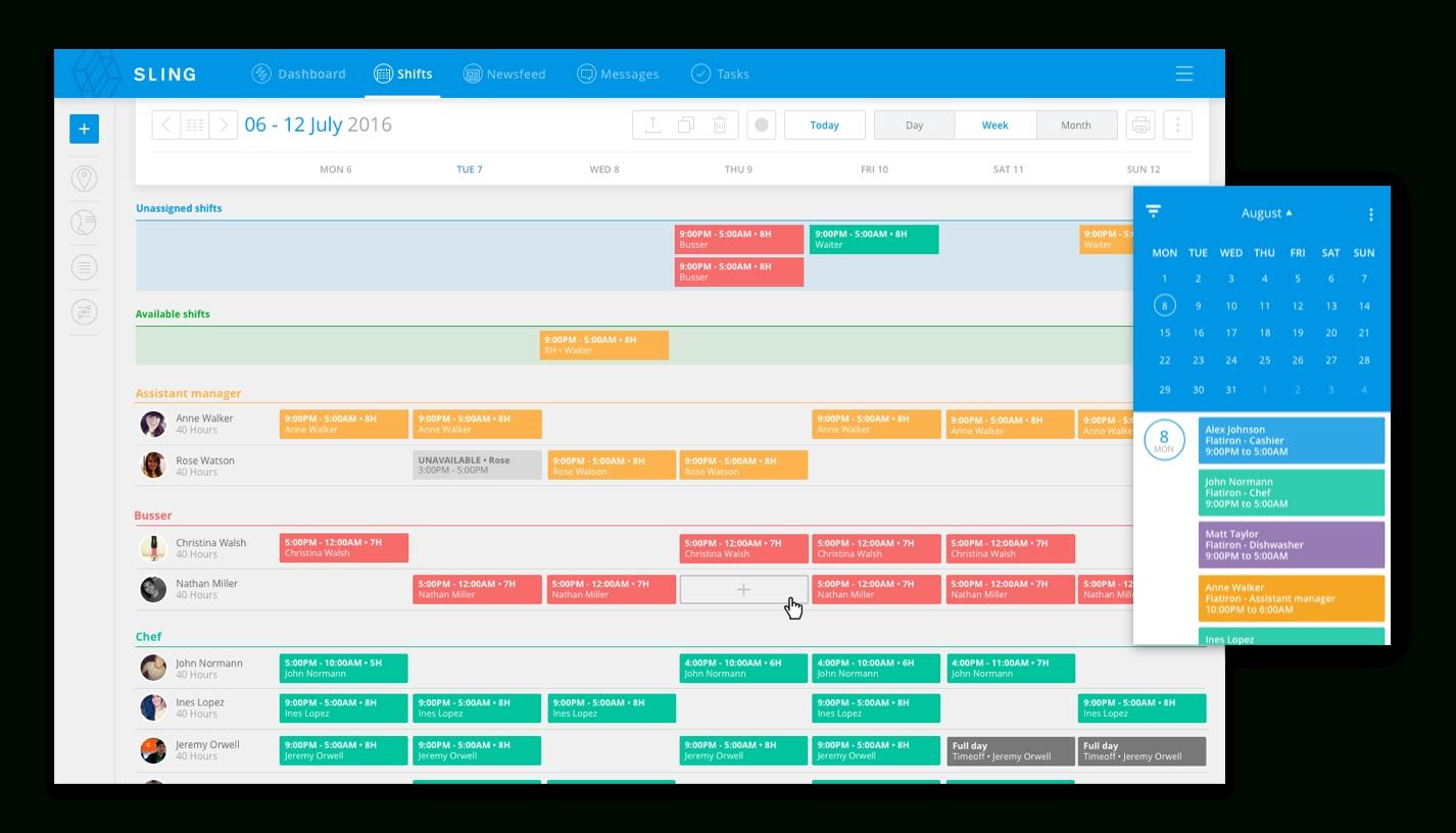 Take Single Page Abc Shift Calendar