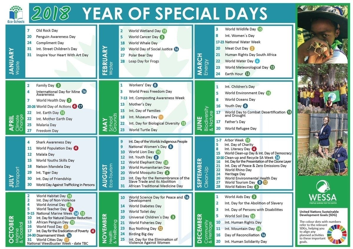 Take Special Days In 2021