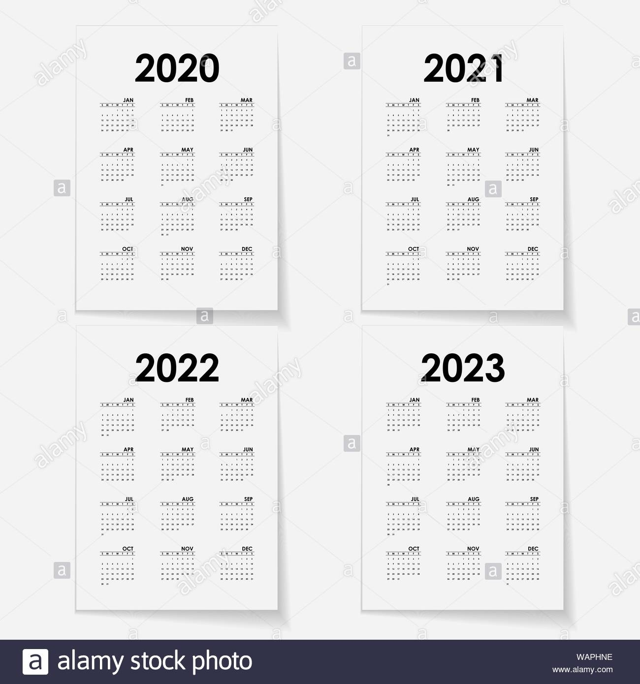 Take Template Trove Calendars 2021 August September October