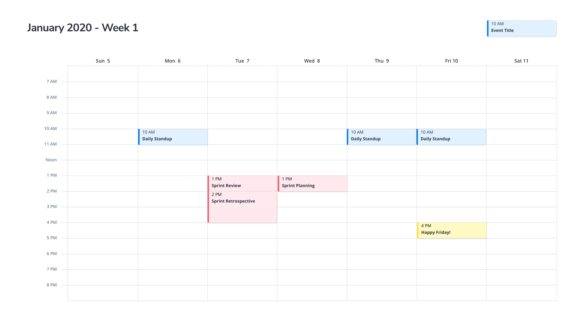 Take Week Calendar Printable Am Pm