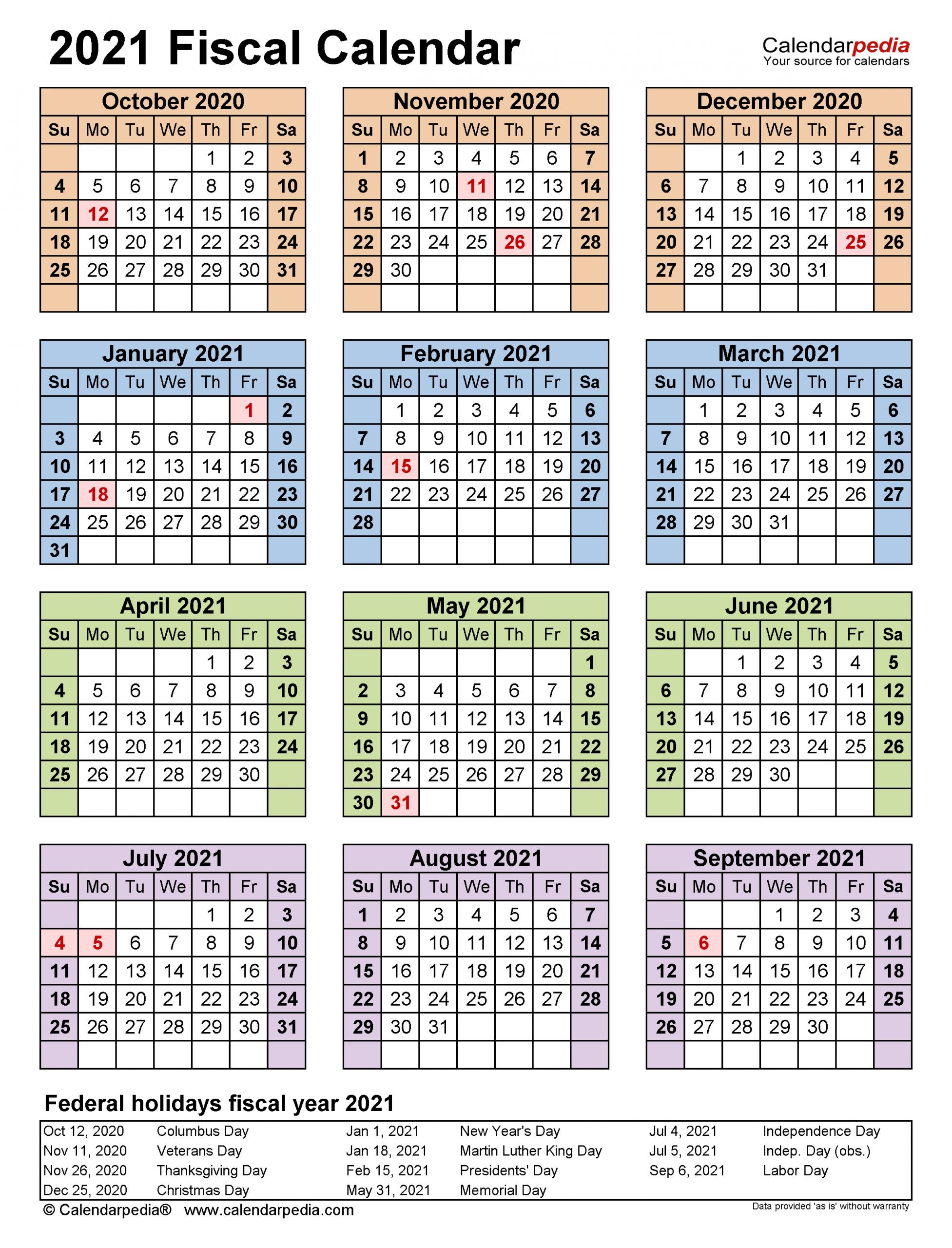 Take Week Numbers 2021 Financial Year