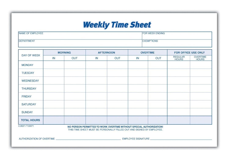 Take Weekly Sign In Sheet Printable Blank