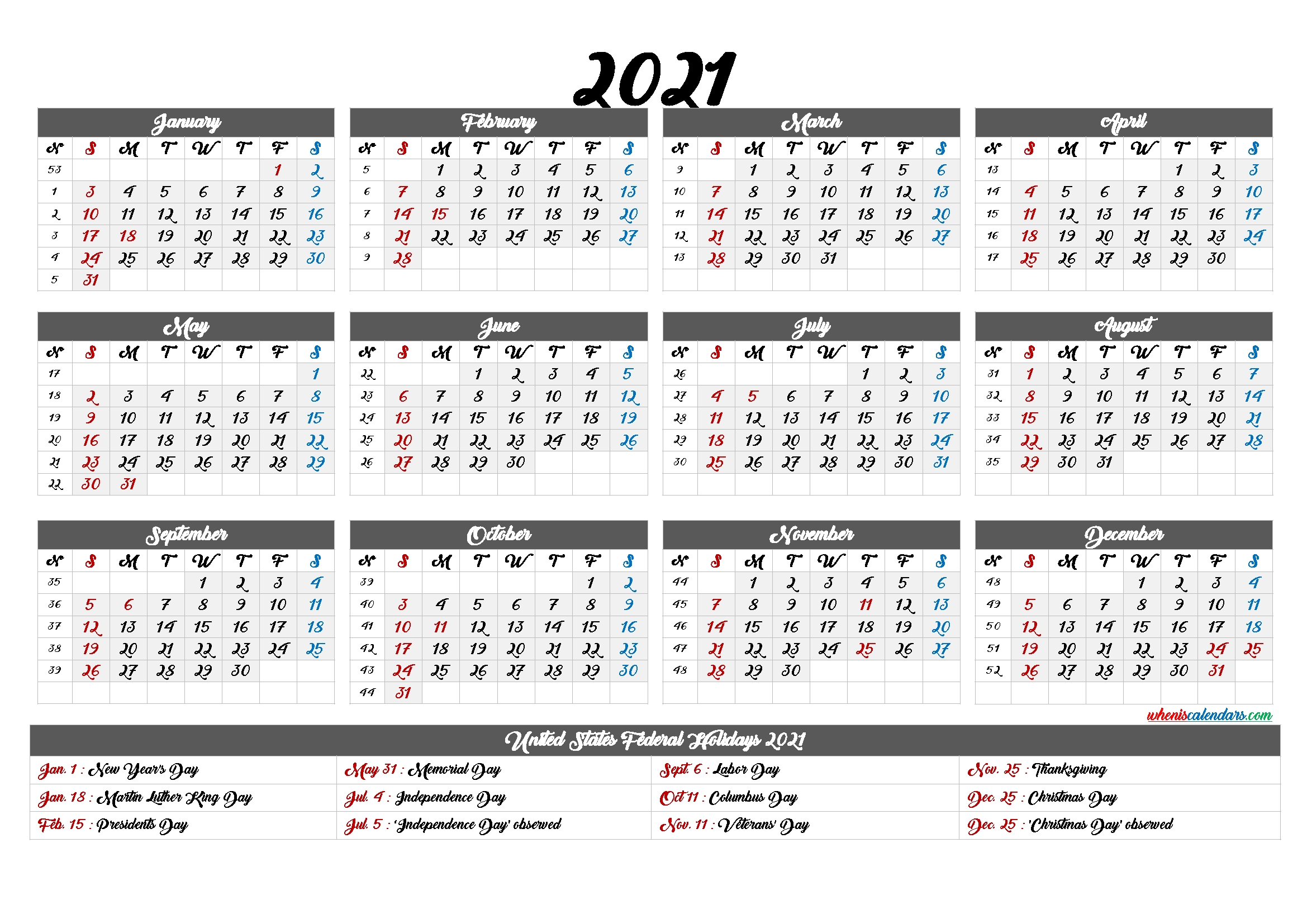Catch 1St April New Financial Year Calendar Week Numbers
