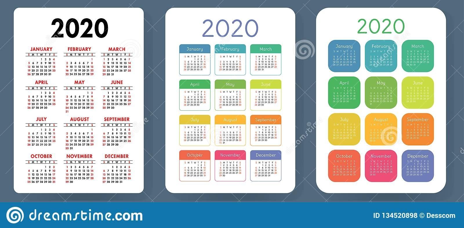 Catch 2021 Printable Pocket Calendar Free